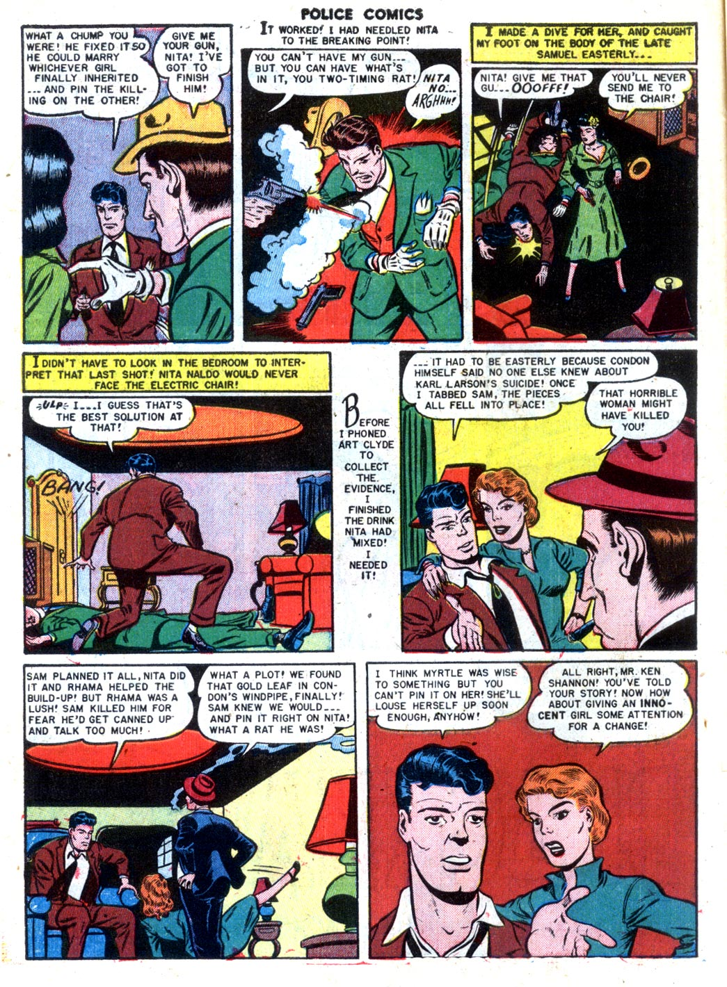 Police Comics issue 105 - Page 14
