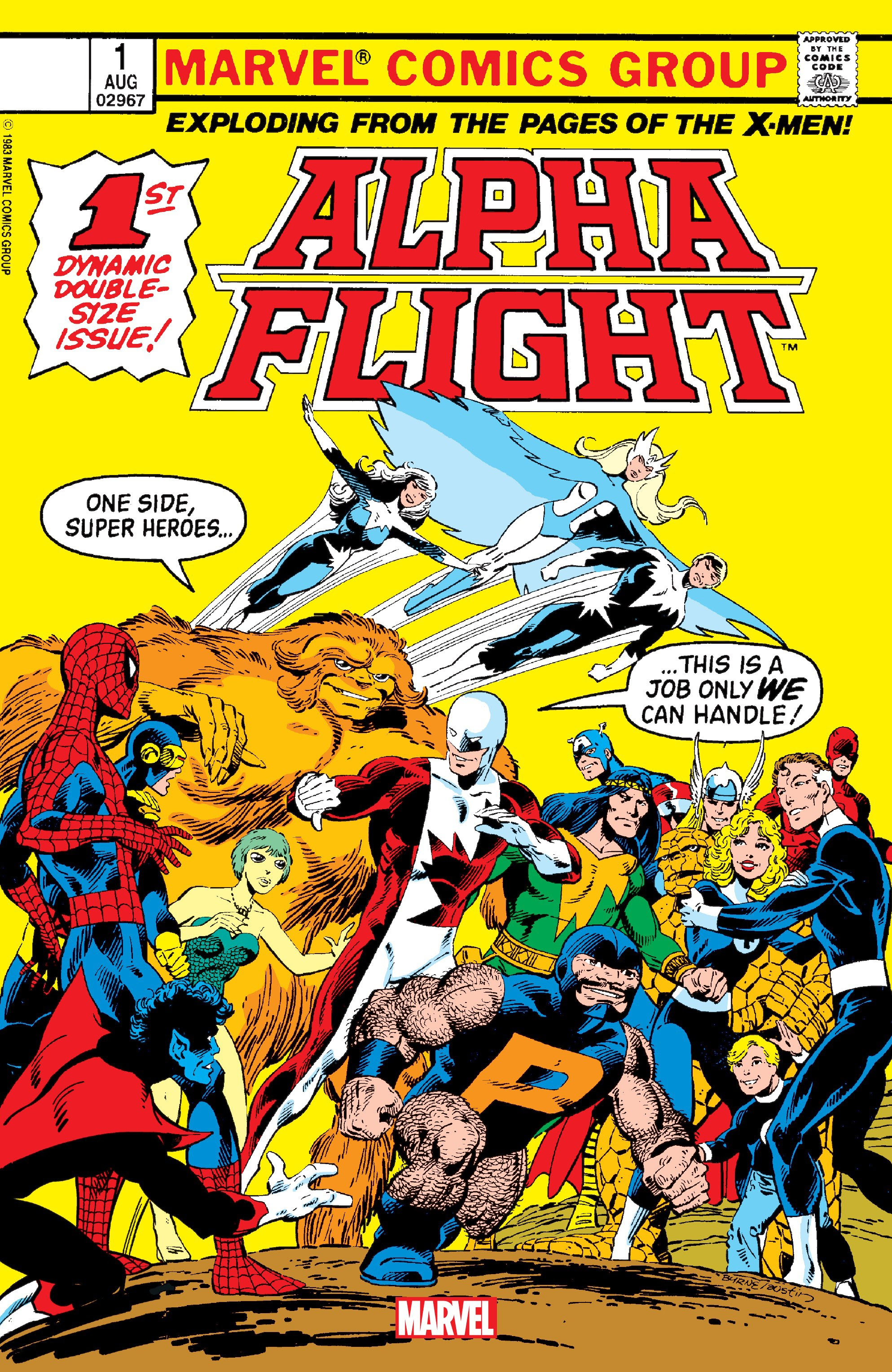 Alpha Flight (1983) _Facsimile_Edition_1 Page 1