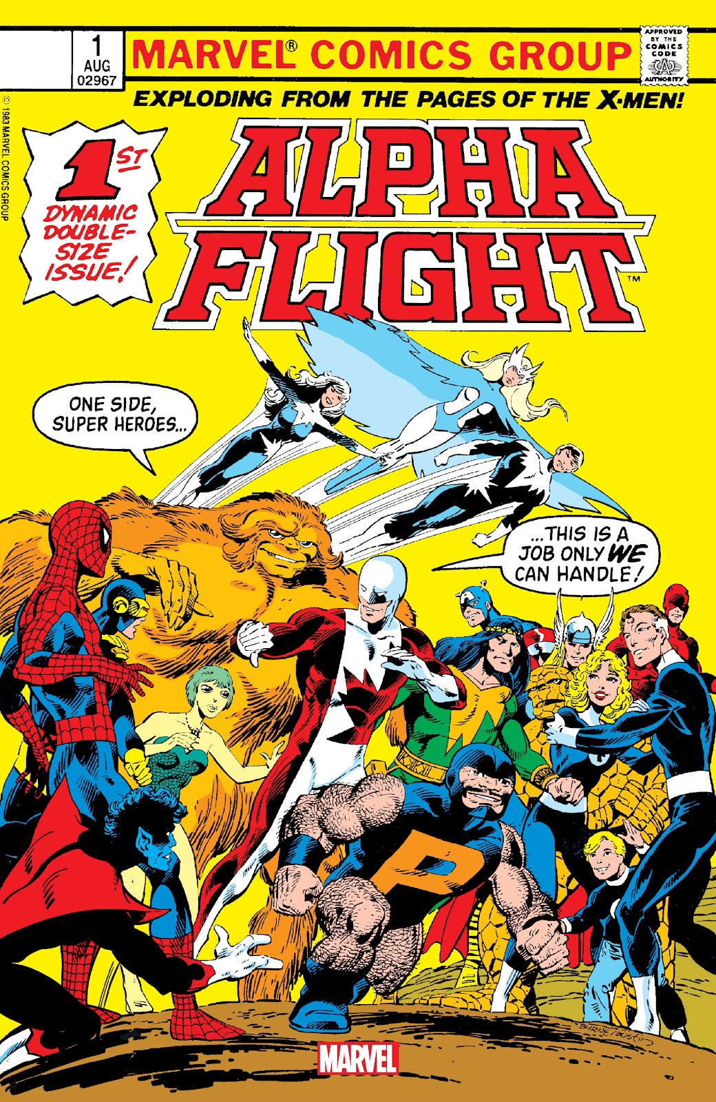 Alpha Flight (1983) issue _Facsimile_Edition_1 - Page 1