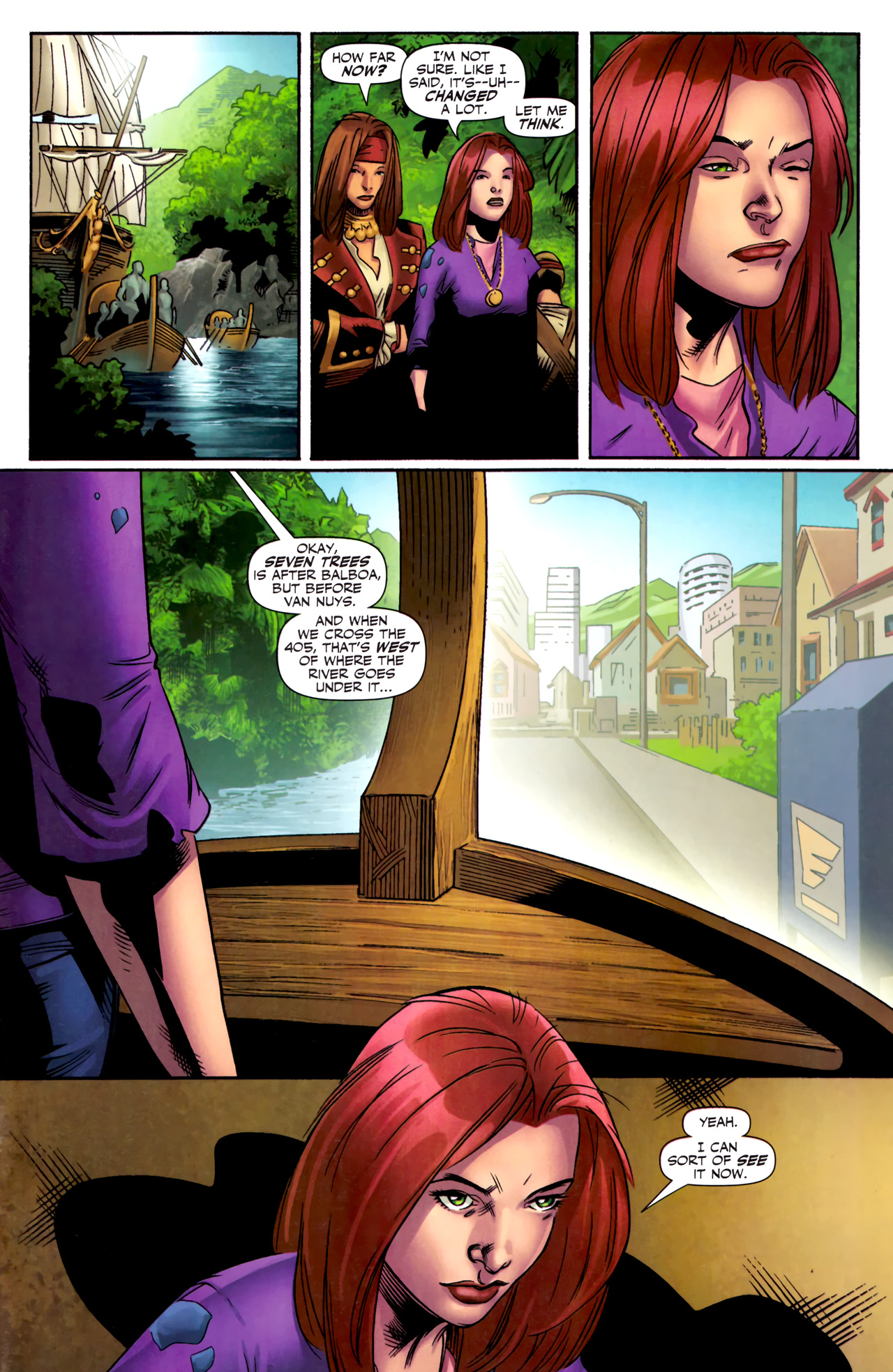 Read online Sigil (2011) comic -  Issue #3 - 17