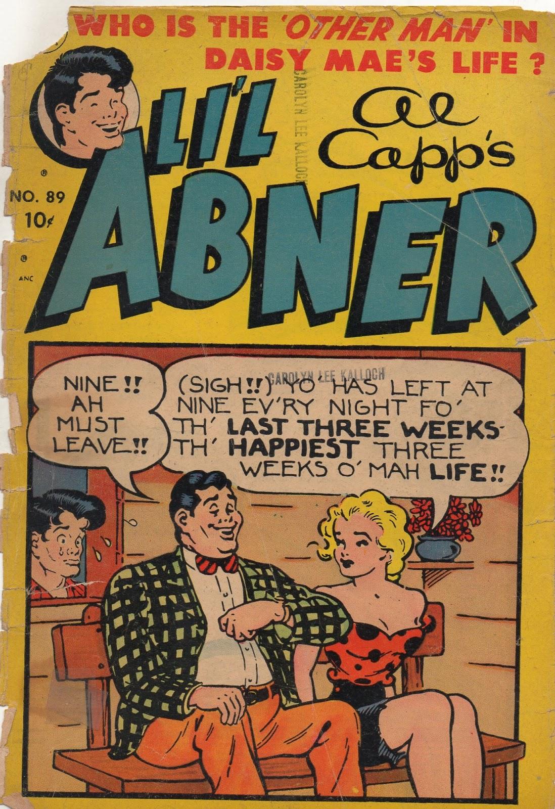 Lil Abner Comics 89 Page 1