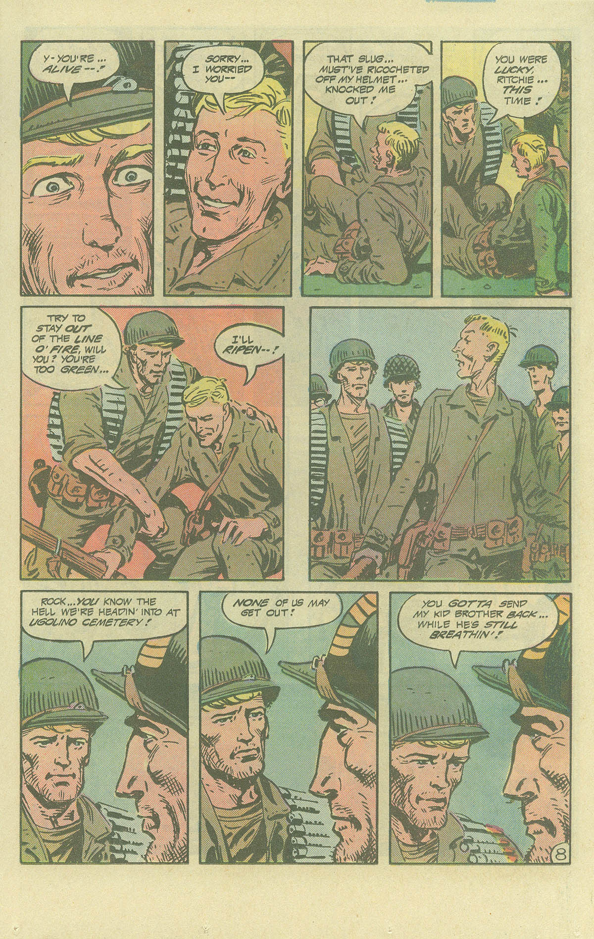 Read online Sgt. Rock comic -  Issue #393 - 8