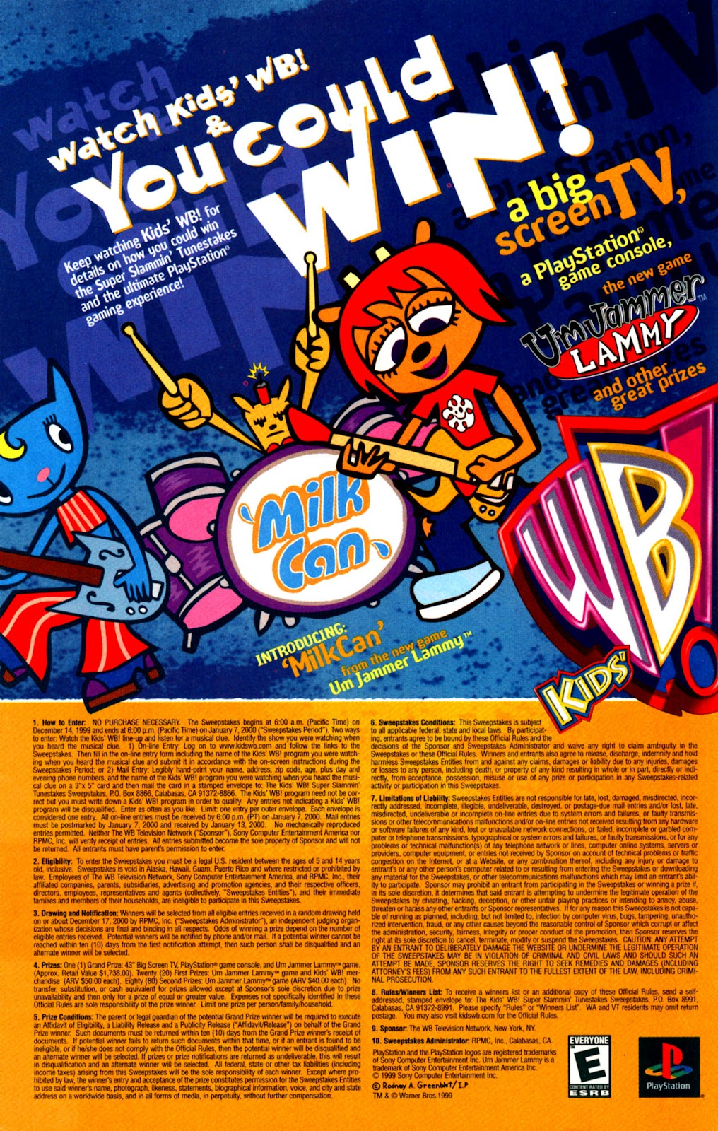 Read online Yeah! comic -  Issue #6 - 7