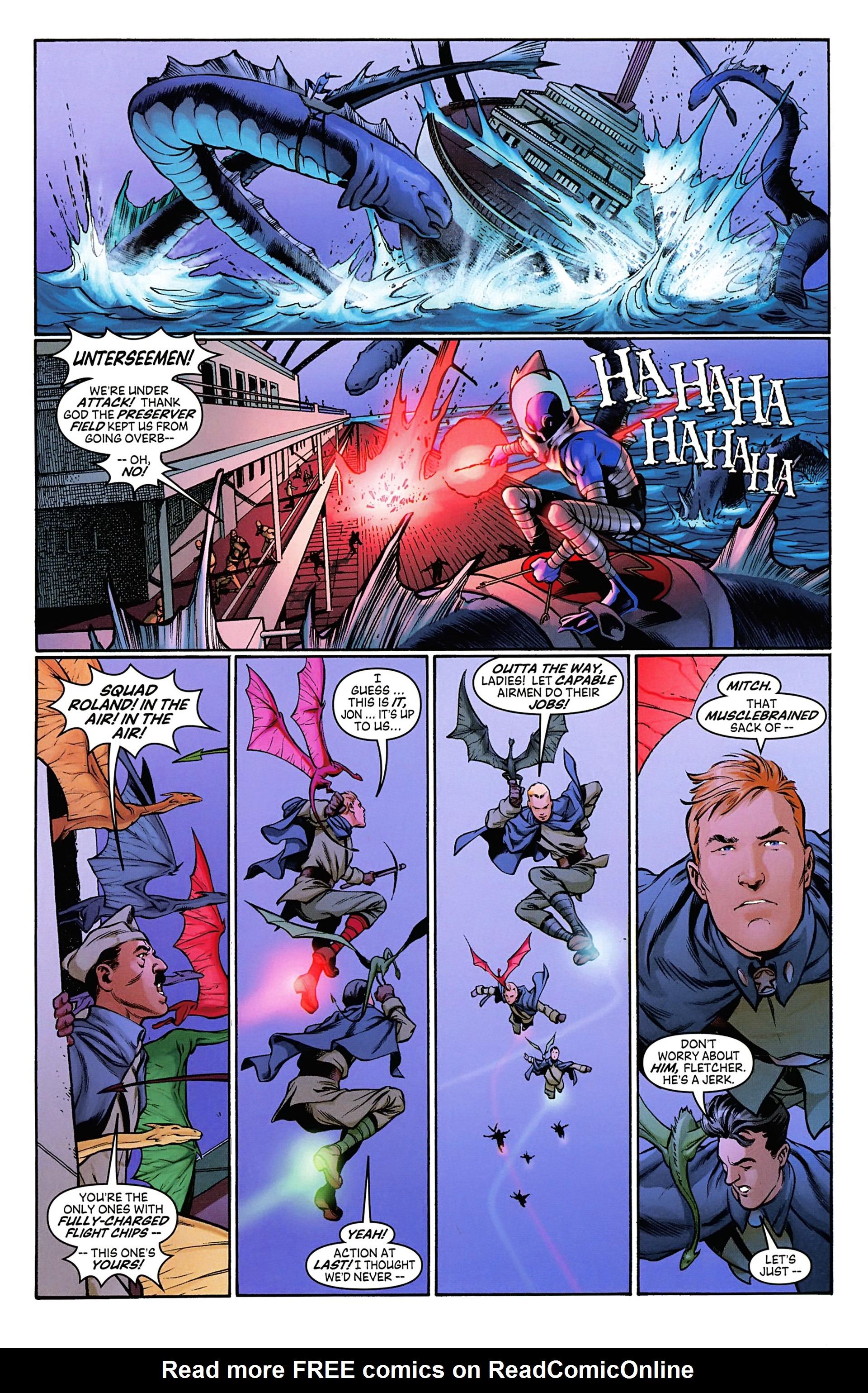Read online Arrowsmith comic -  Issue #3 - 9