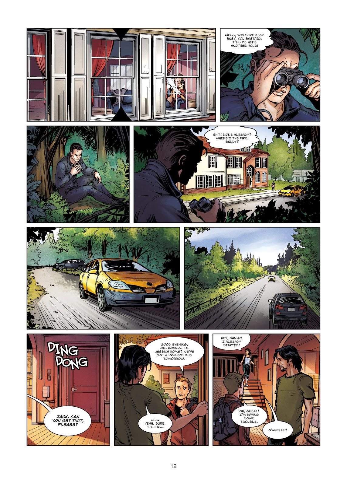 Read online Vigilantes comic -  Issue #4 - 12