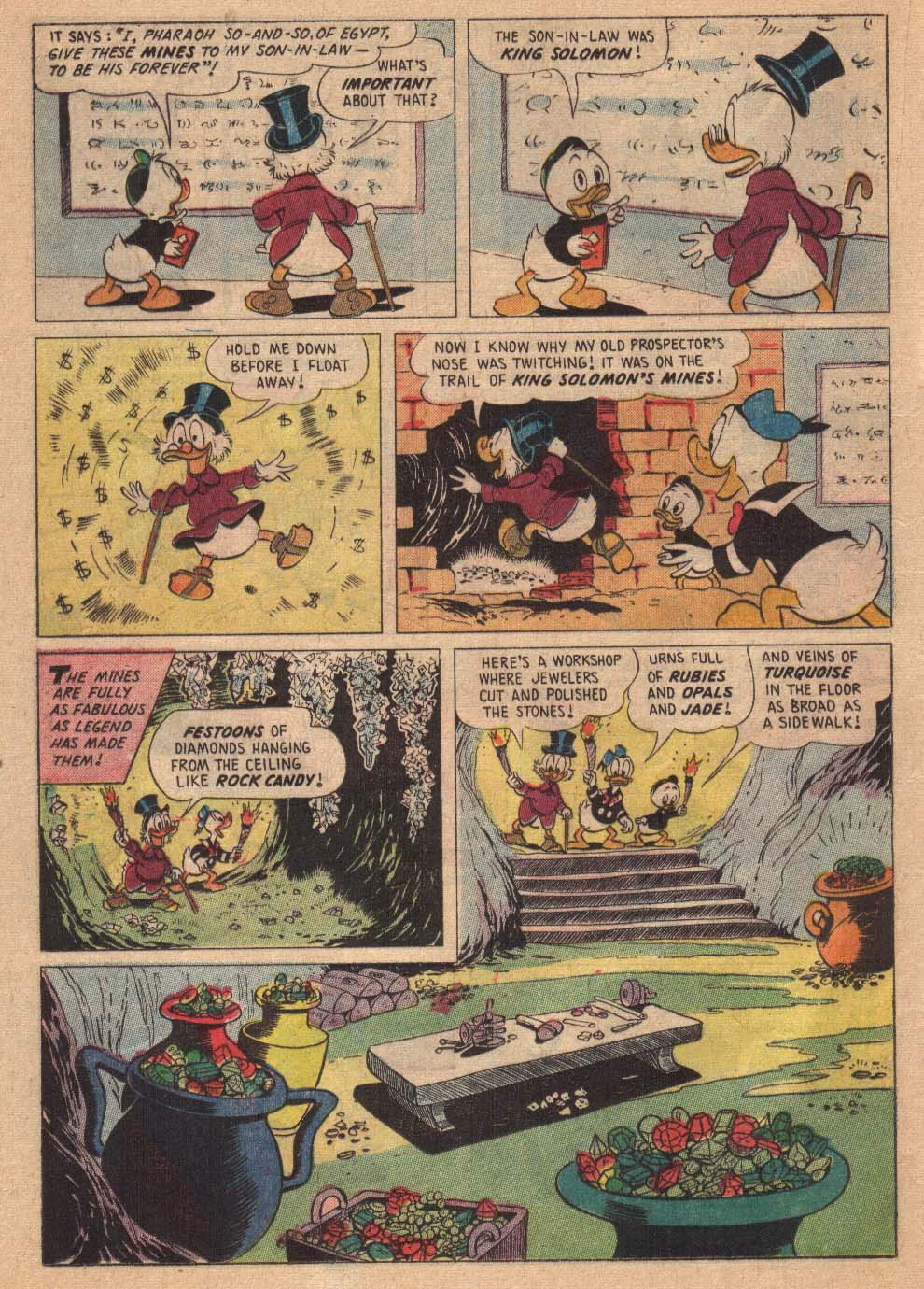 Read online Uncle Scrooge (1953) comic -  Issue #19 - 20