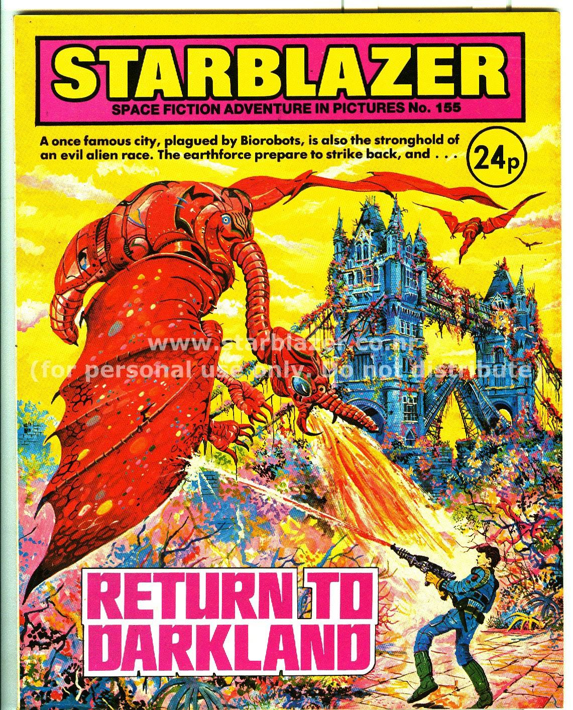 Starblazer issue 155 - Page 1