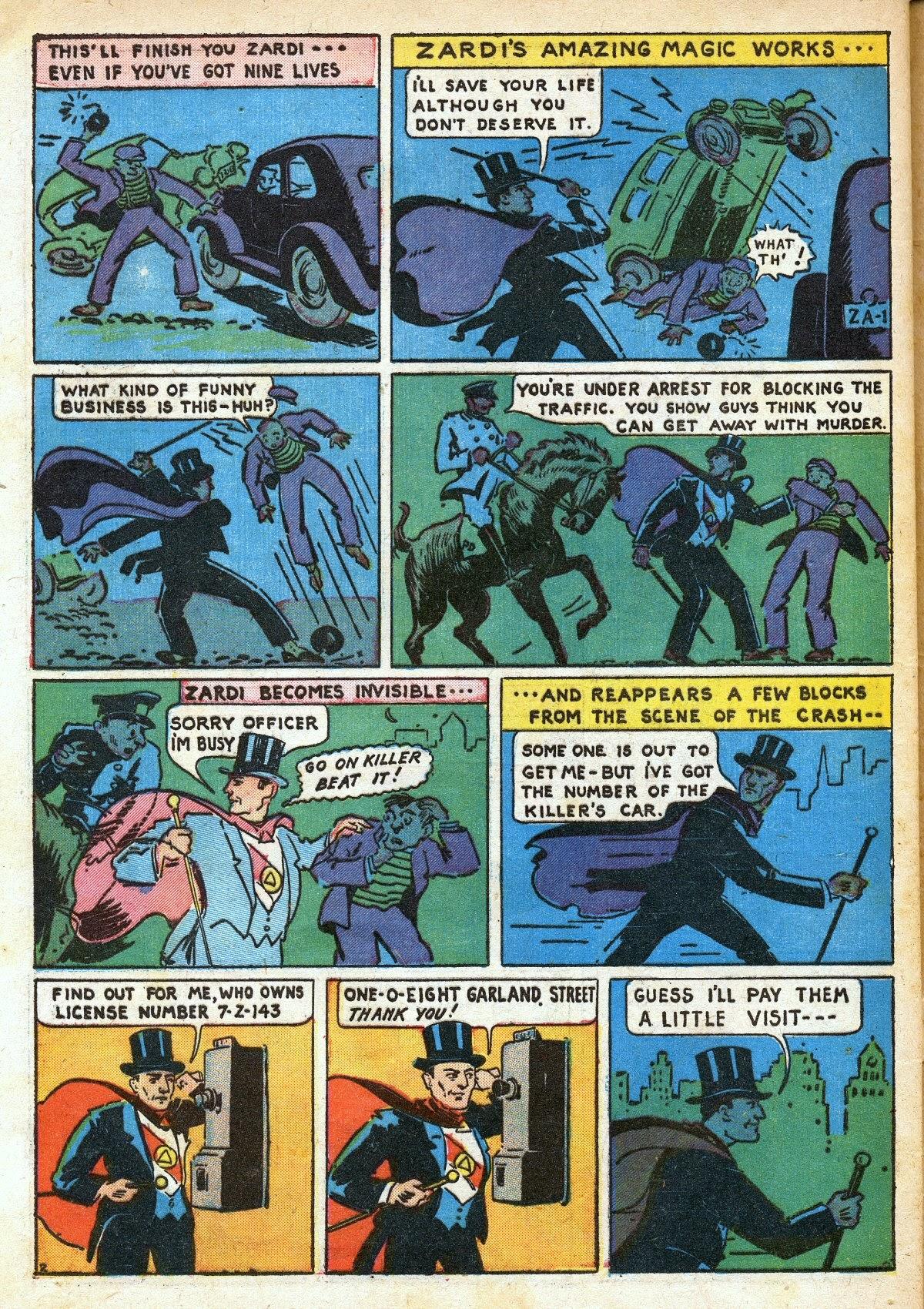 Read online Amazing Man Comics comic -  Issue #16 - 60