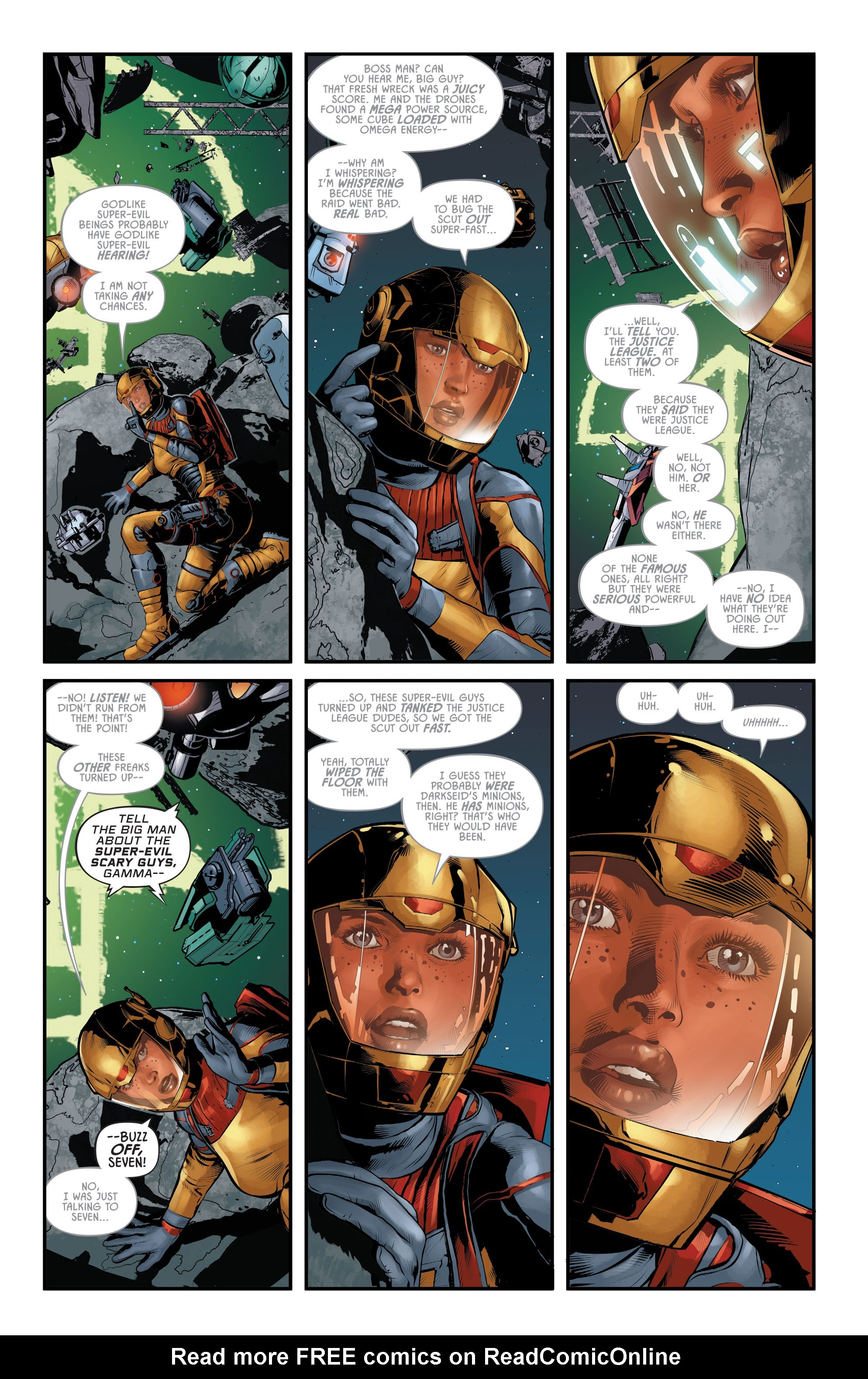Justice League Odyssey #17 #17 - English 5