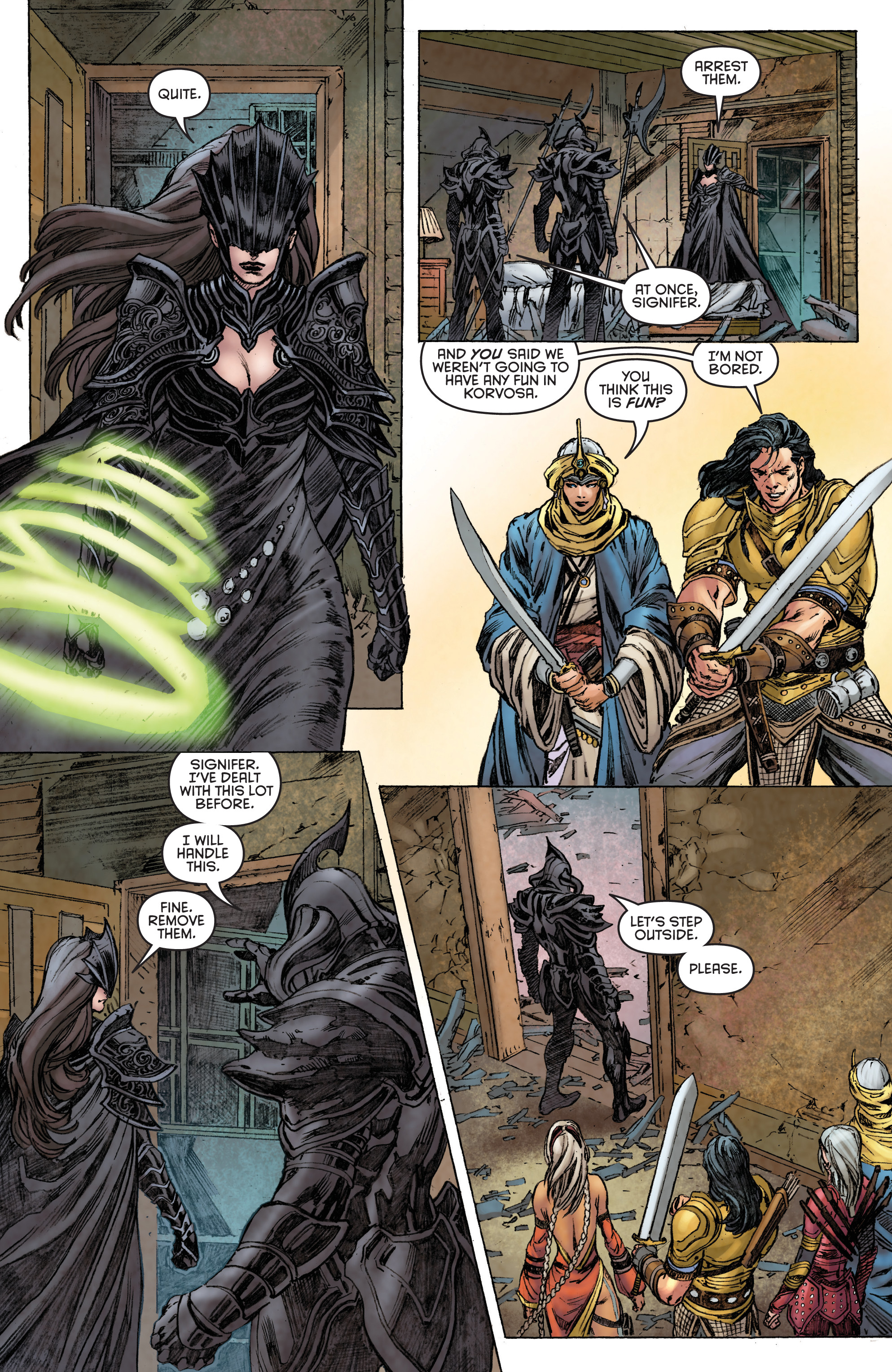 Read online Pathfinder: Runescars comic -  Issue #1 - 9
