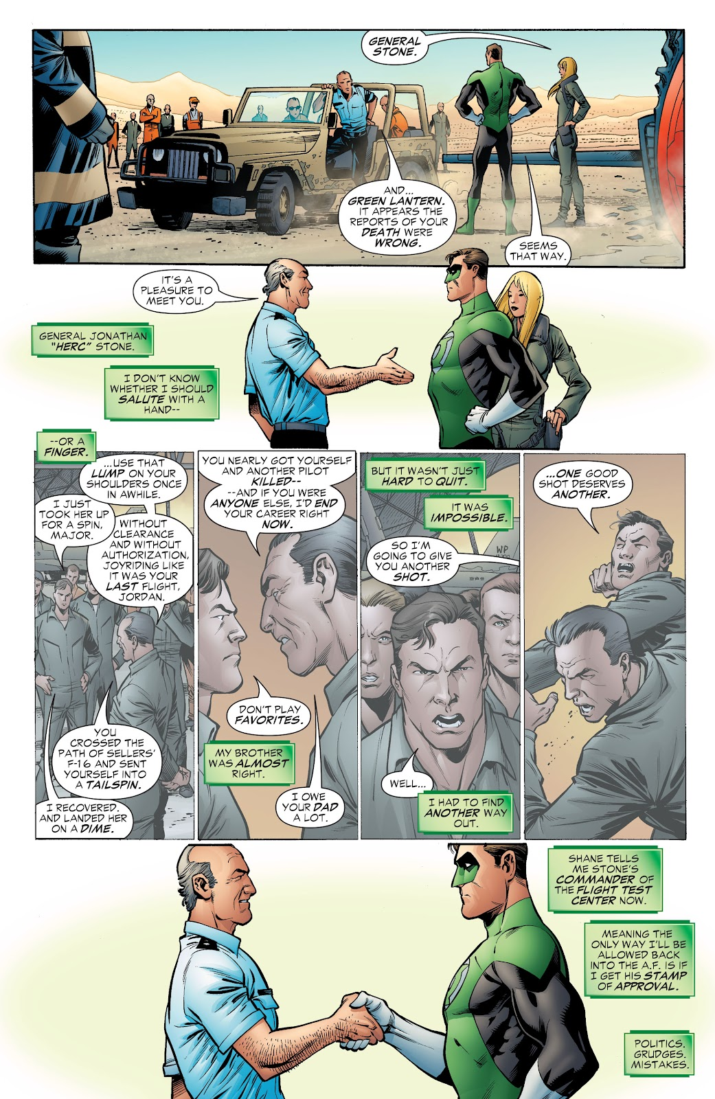 Read online Green Lantern by Geoff Johns comic -  Issue # TPB 1 (Part 4) - 28