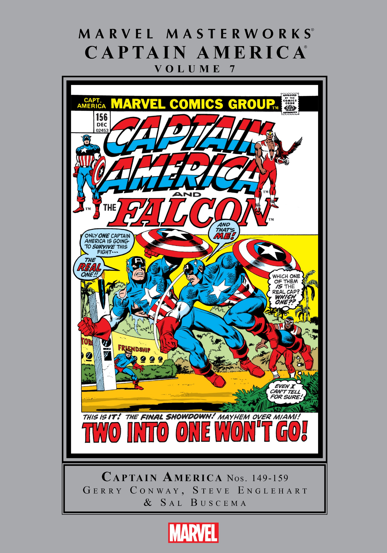 Marvel Masterworks: Captain America TPB_7_(Part_1) Page 1