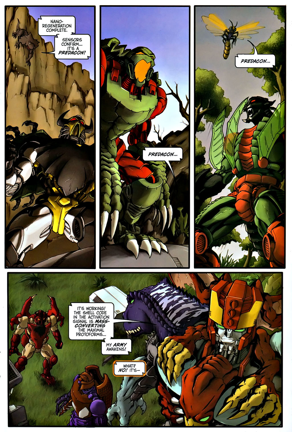 Read online Transformers, Beast Wars: The Gathering comic -  Issue #1 - 16
