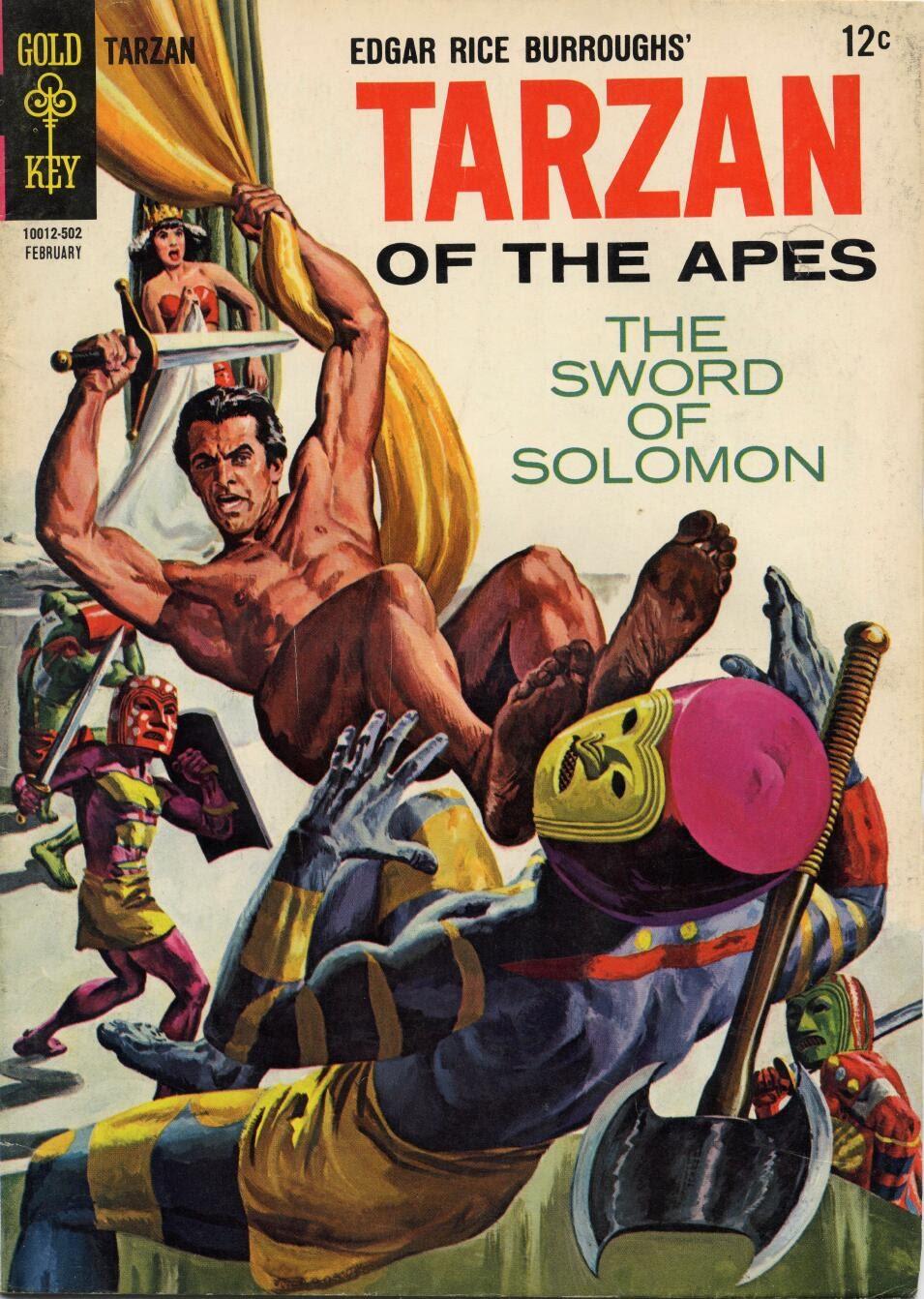 Tarzan (1962) issue 148 - Page 1
