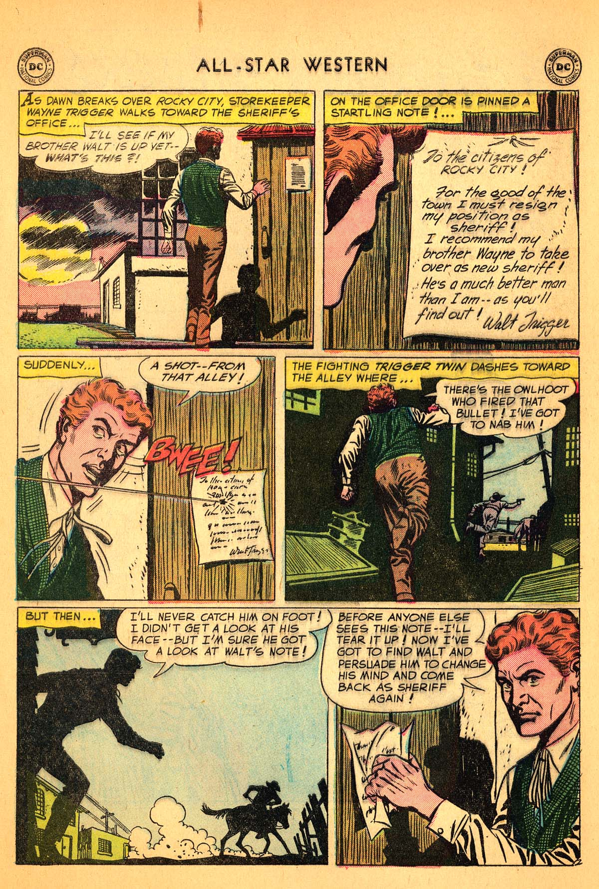 Read online All-Star Western (1951) comic -  Issue #99 - 4