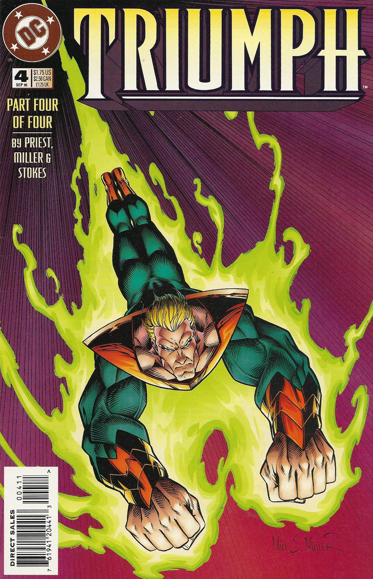 Read online Triumph comic -  Issue #4 - 1