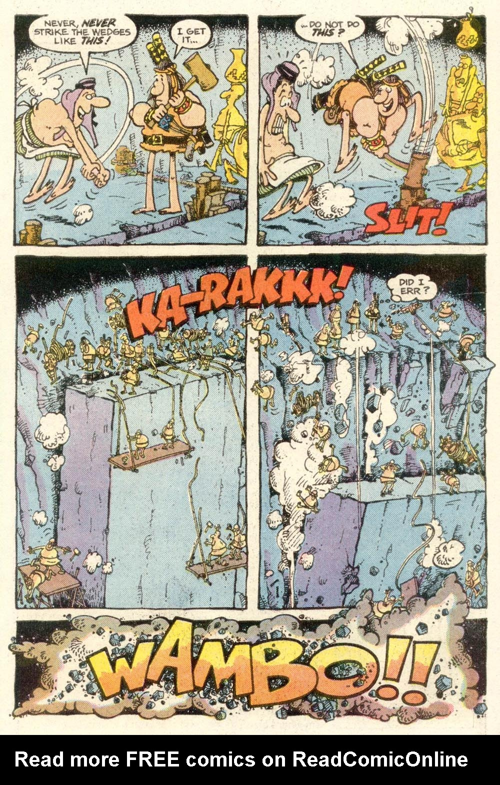 Read online Sergio Aragonés Groo the Wanderer comic -  Issue #14 - 19
