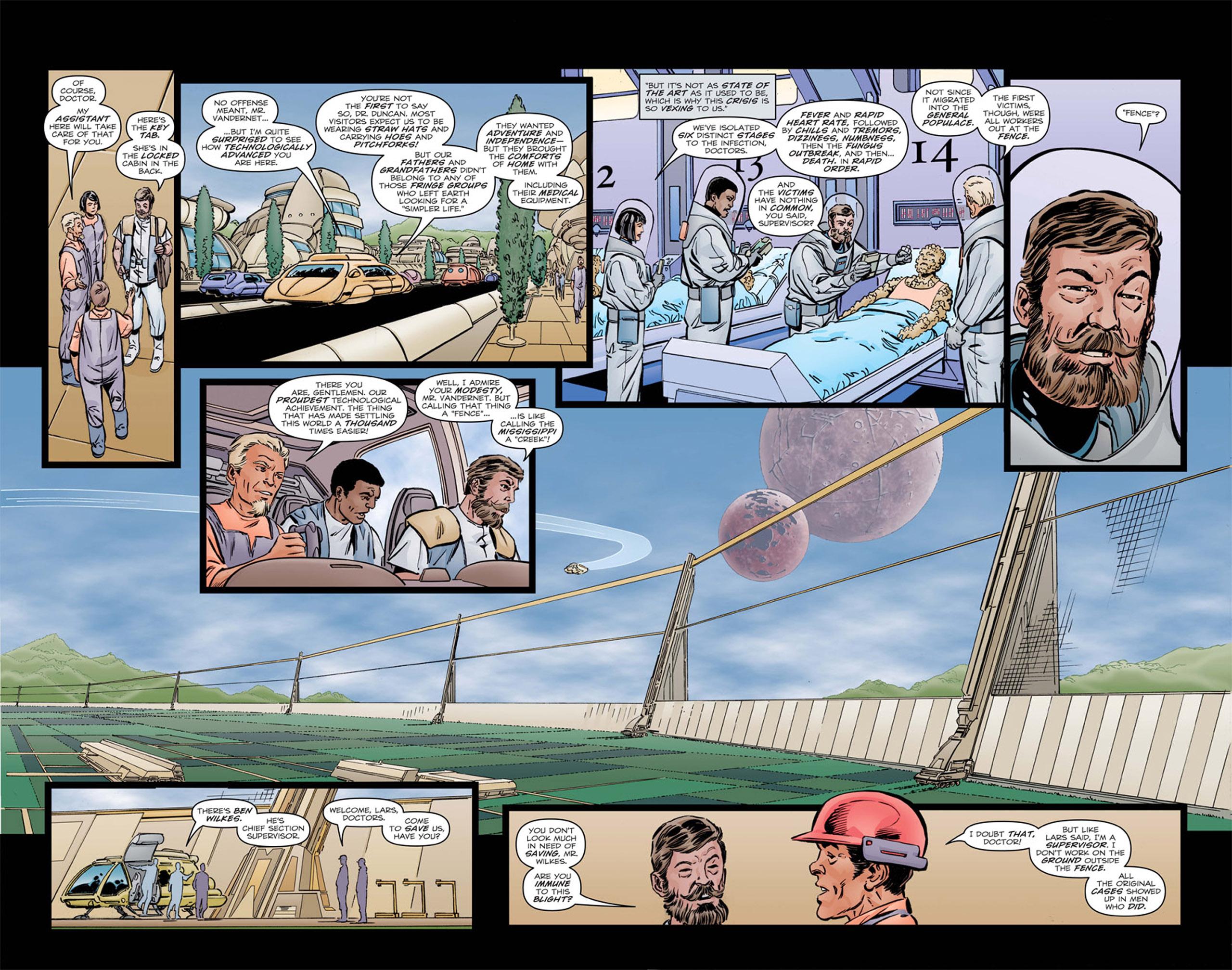 Read online Star Trek: Leonard McCoy, Frontier Doctor comic -  Issue #1 - 12