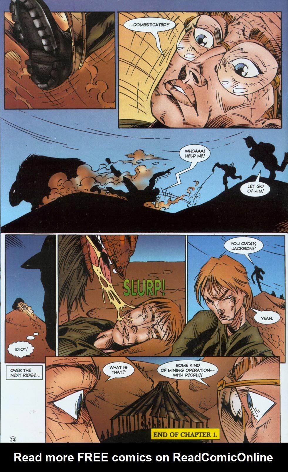 Read online Stargate comic -  Issue #1 - 14