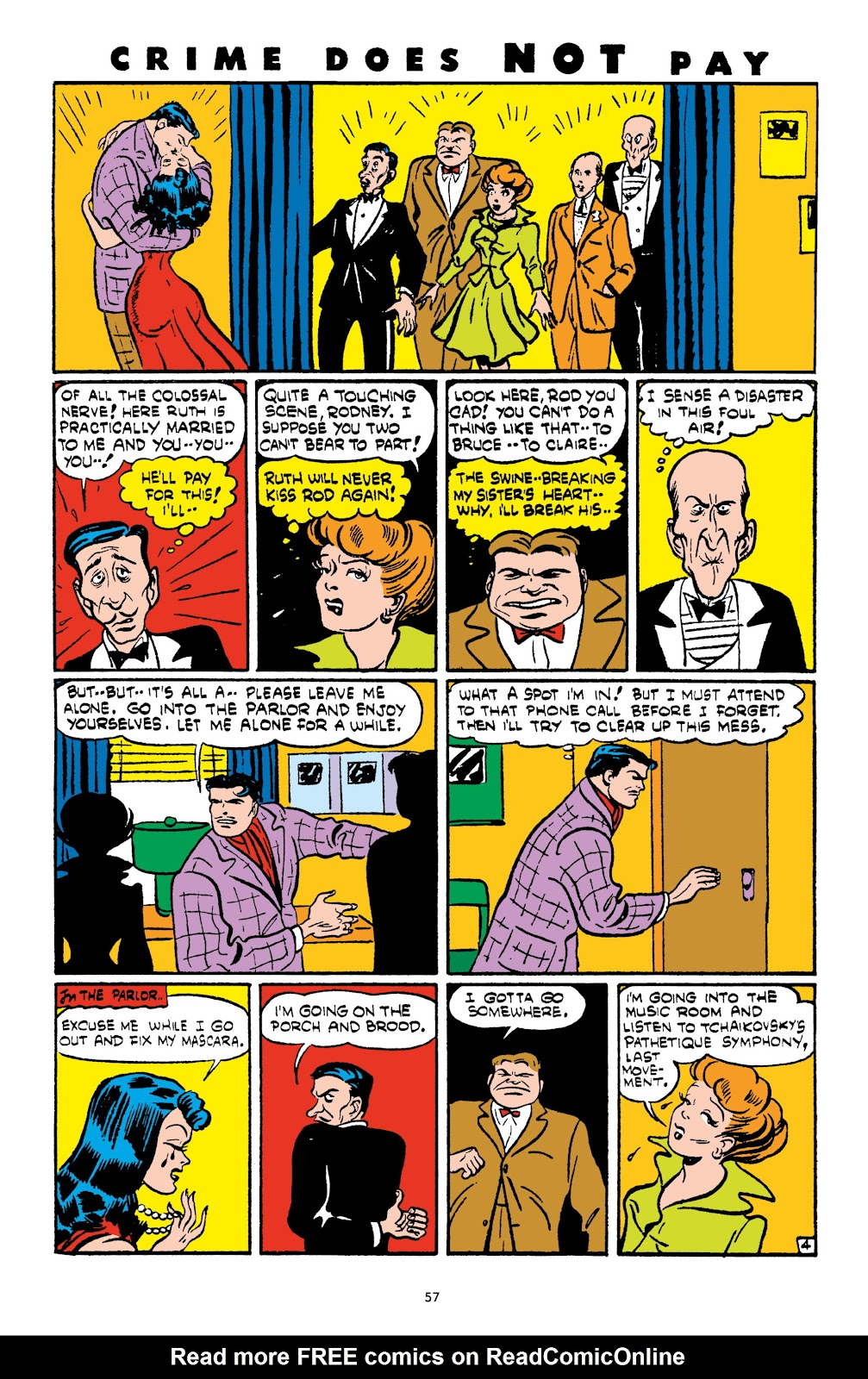 Read online Crime Does Not Pay Archives comic -  Issue # TPB 4 (Part 1) - 57
