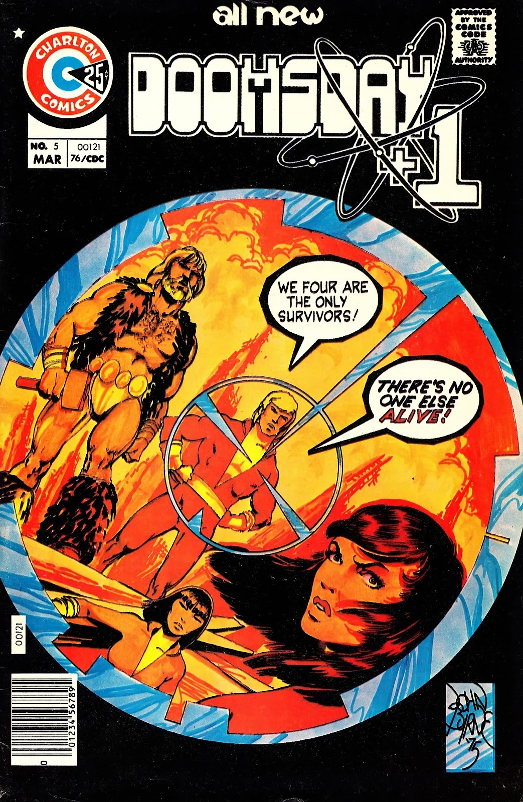 Read online Doomsday   1 (1975) comic -  Issue #5 - 2