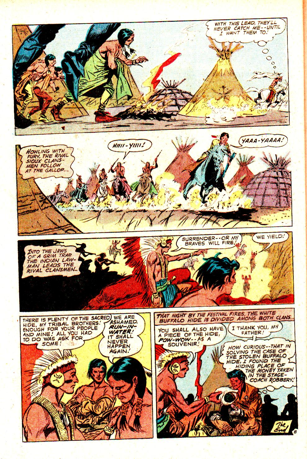 Read online All-Star Western (1970) comic -  Issue #11 - 36