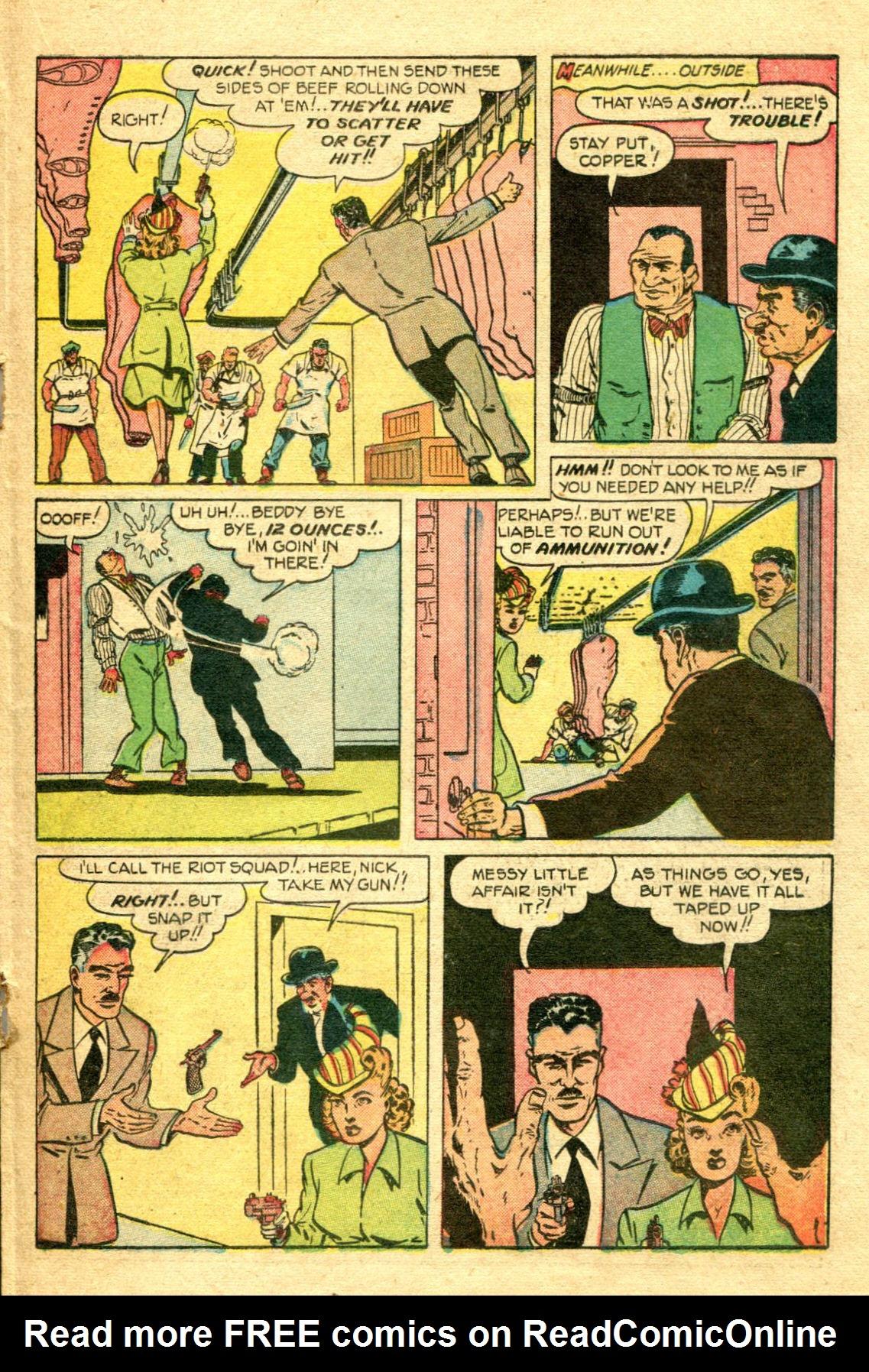 Read online Shadow Comics comic -  Issue #75 - 28
