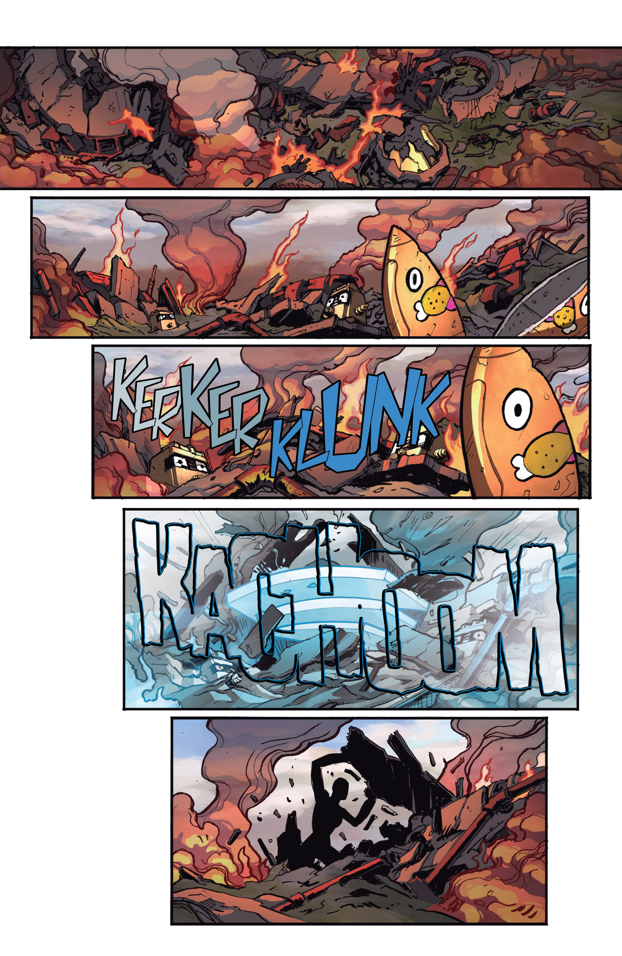 Read online Micronauts: Wrath of Karza comic -  Issue #2 - 21