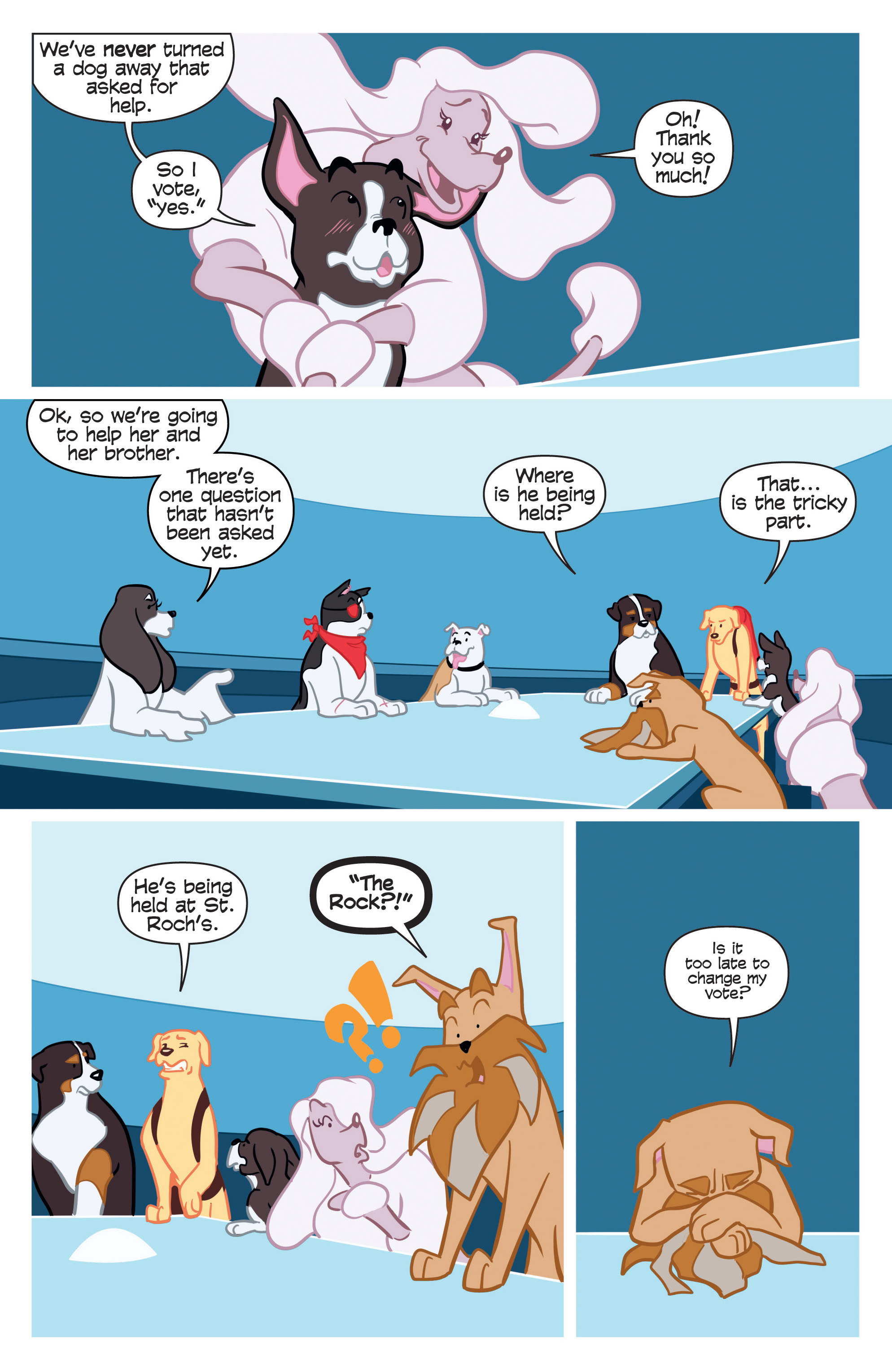 Read online Action Lab, Dog of Wonder comic -  Issue #2 - 11
