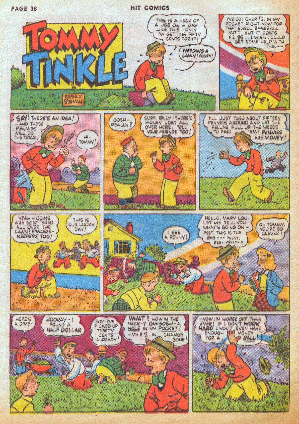 Read online Hit Comics comic -  Issue #12 - 40