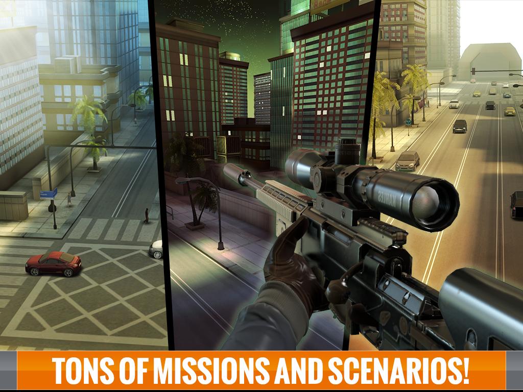 Free Download Game Sniper 3D Assassin 1.7 Apk Mod Terbaru 2015