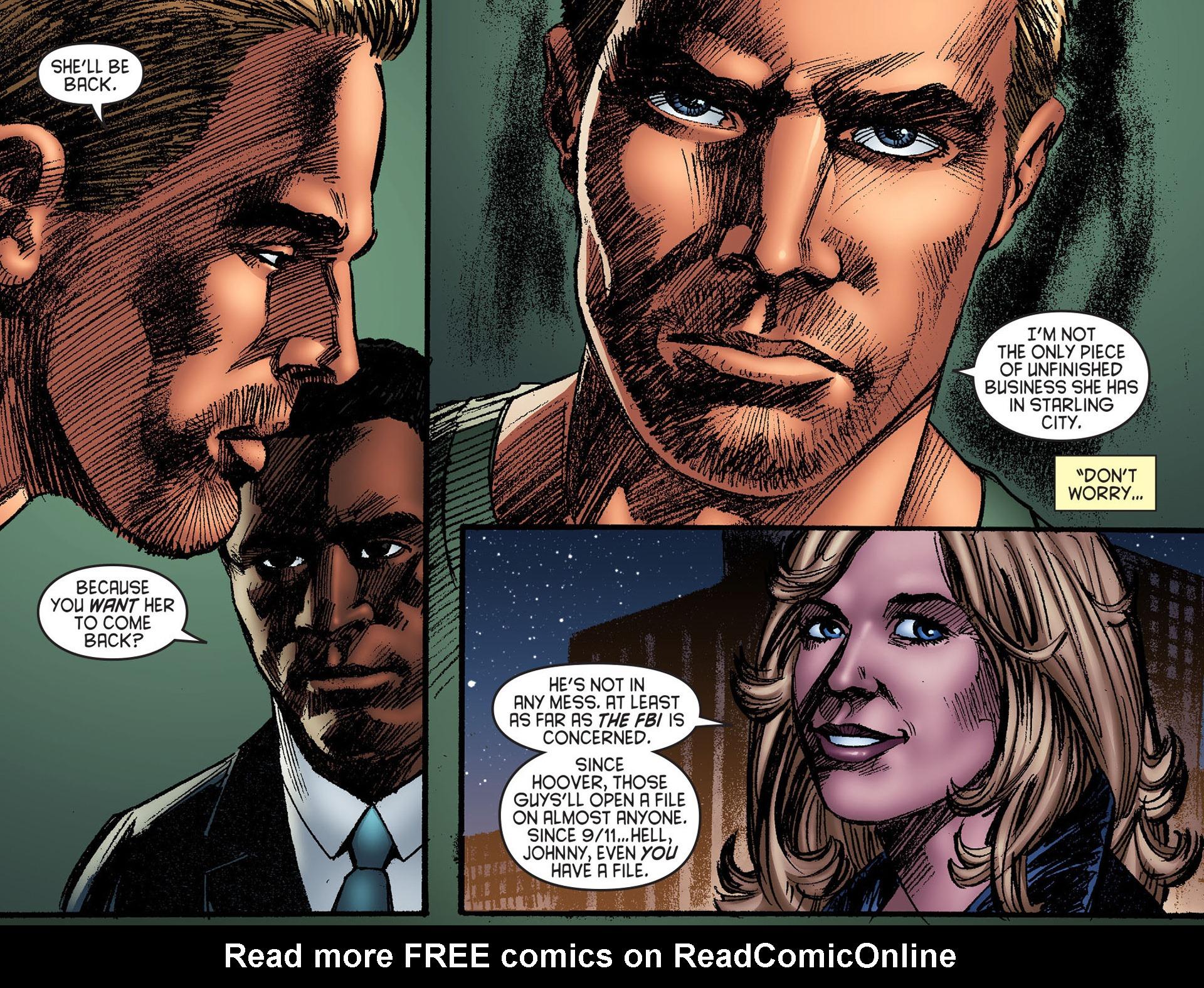 Read online Arrow [II] comic -  Issue #25 - 13