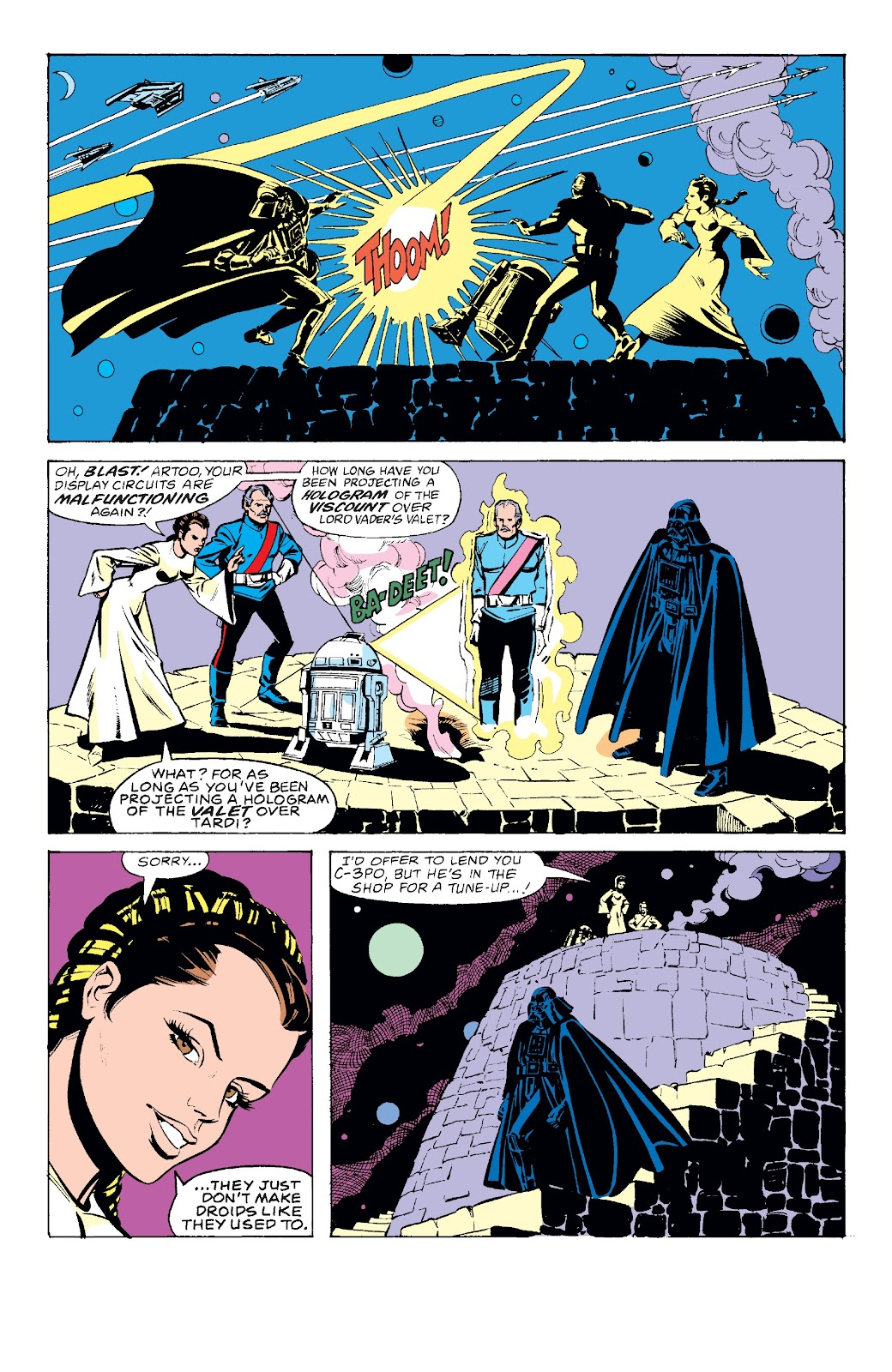 Read online Star Wars Legends: The Original Marvel Years - Epic Collection comic -  Issue # TPB 3 (Part 2) - 98