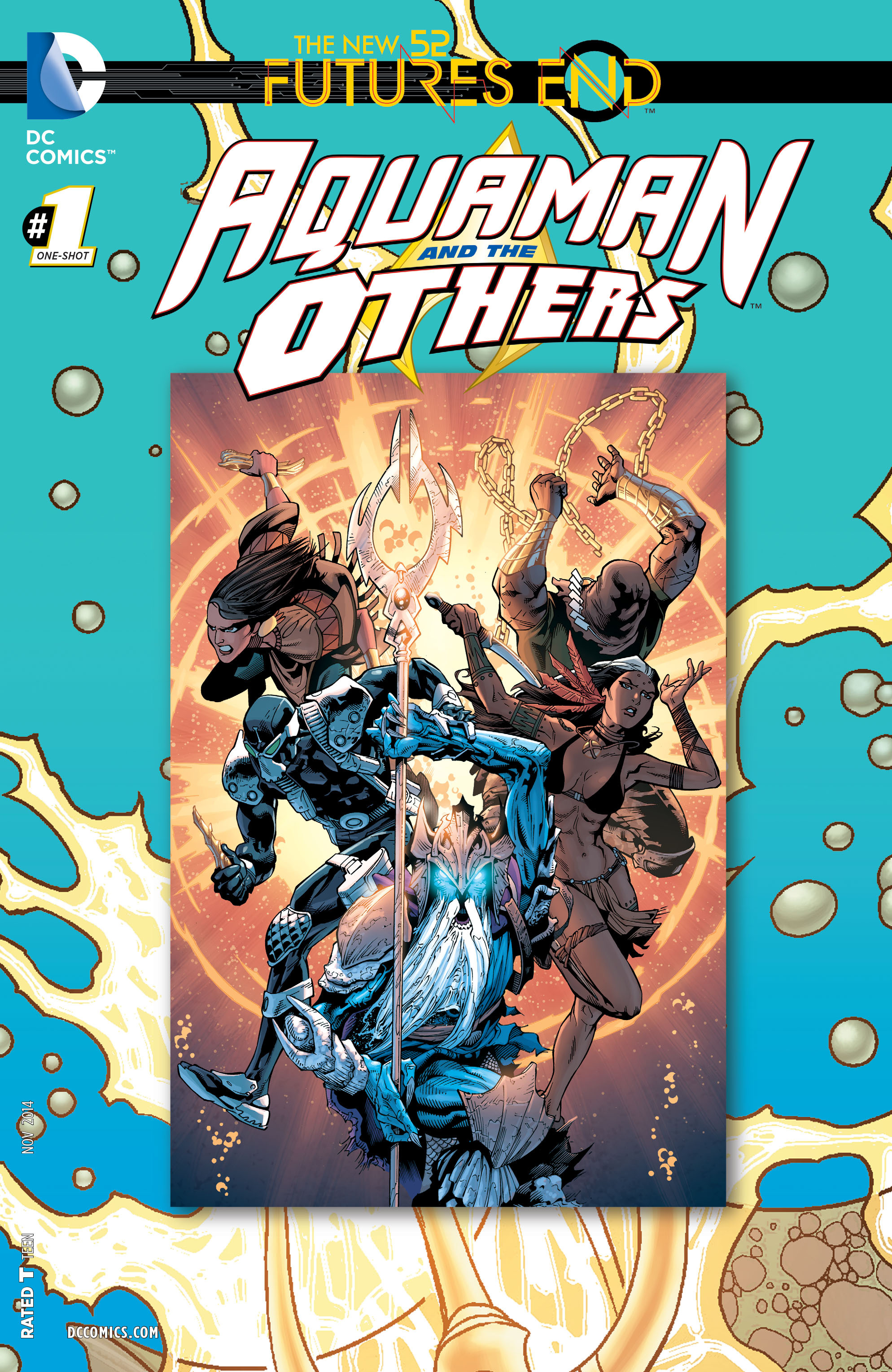 Read online Aquaman and the Others: Futures End comic -  Issue #Aquaman and the Others: Futures End Full - 1
