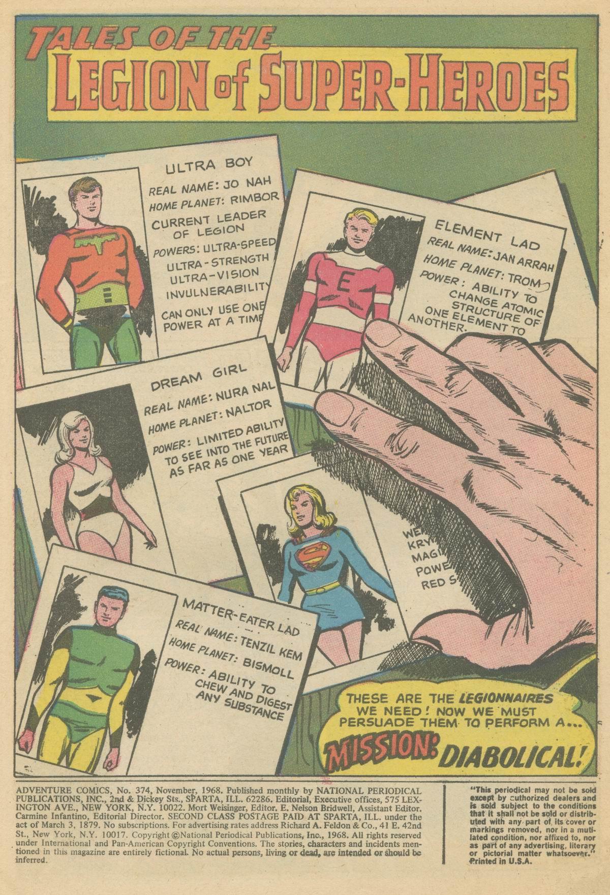 Read online Adventure Comics (1938) comic -  Issue #374 - 3