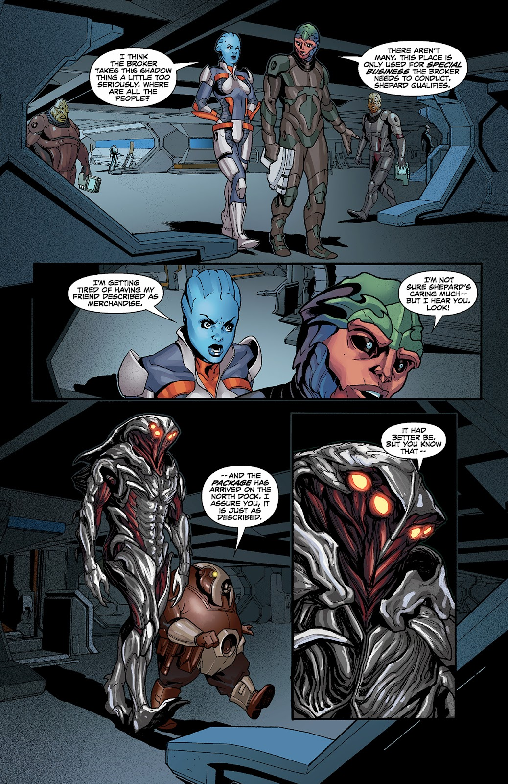 Mass Effect: Redemption Issue #3 #3 - English 16