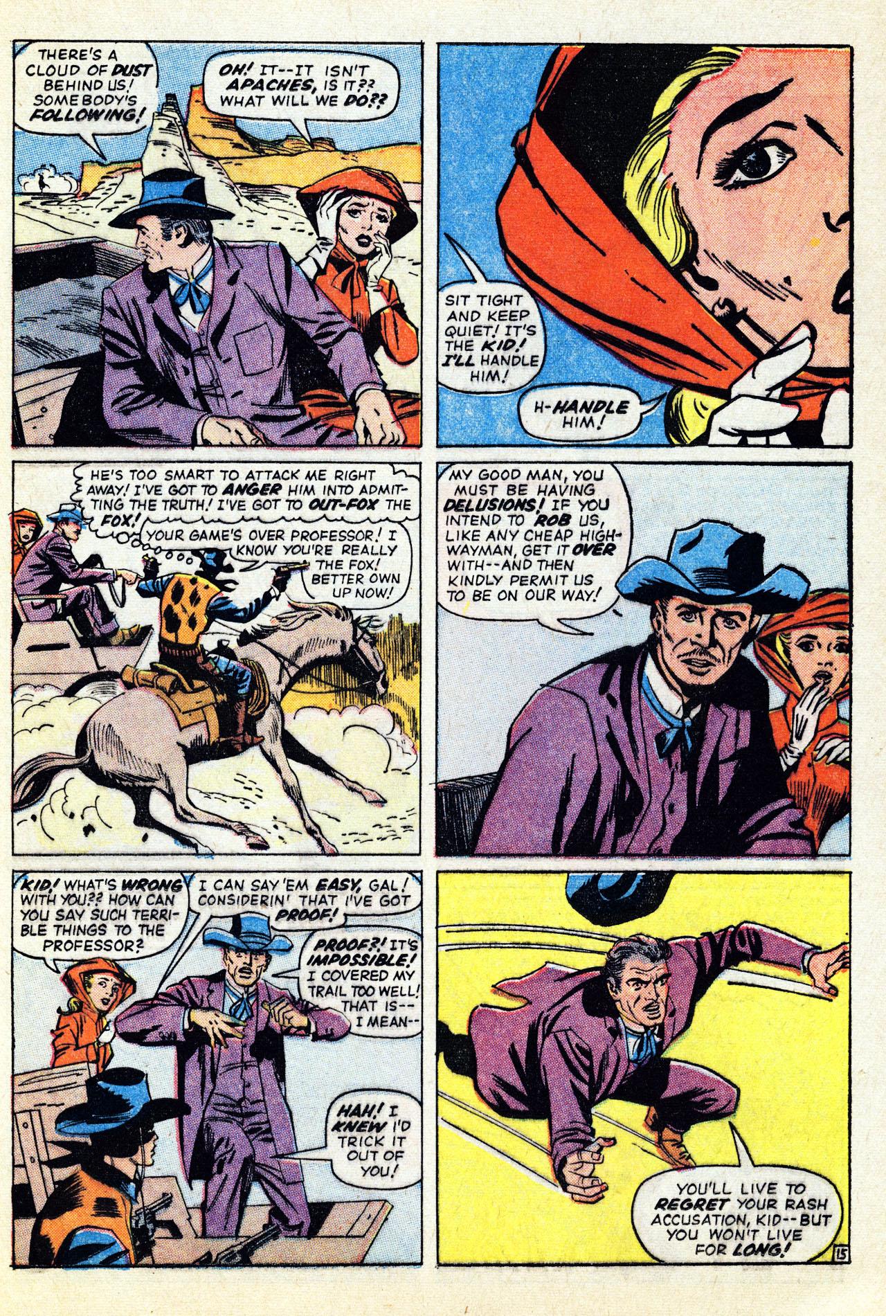 Read online Two-Gun Kid comic -  Issue #67 - 21