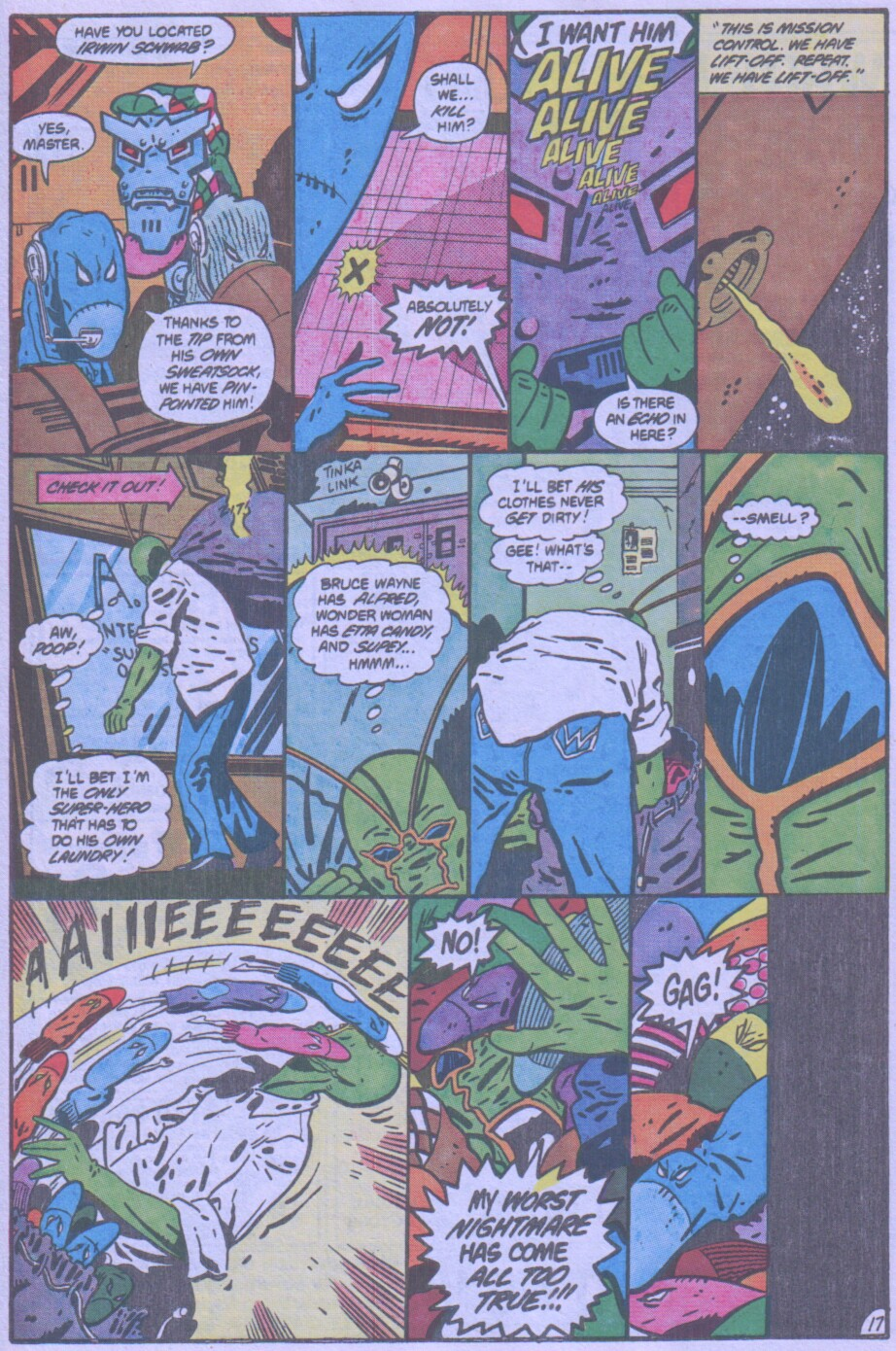 Read online Ambush Bug comic -  Issue #4 - 18