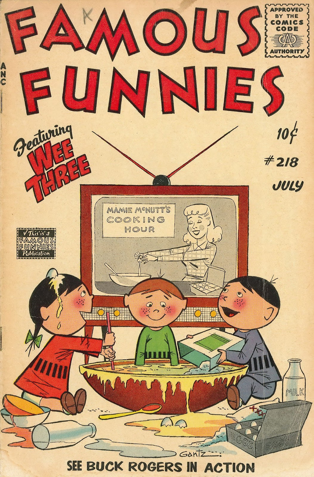 Read online Famous Funnies comic -  Issue #218 - 1