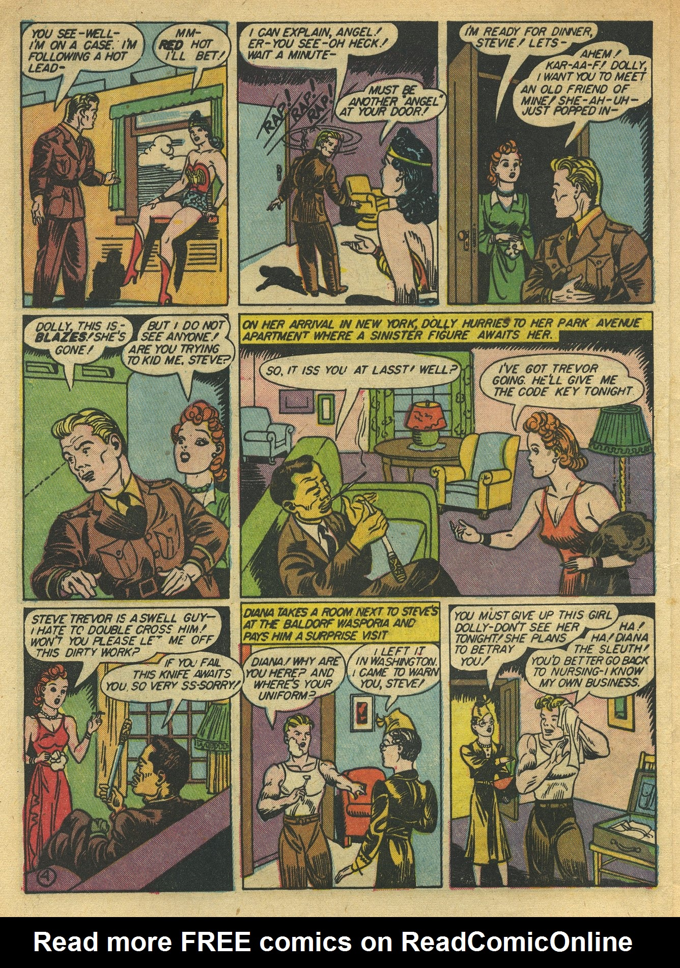 Read online Sensation (Mystery) Comics comic -  Issue #10 - 6