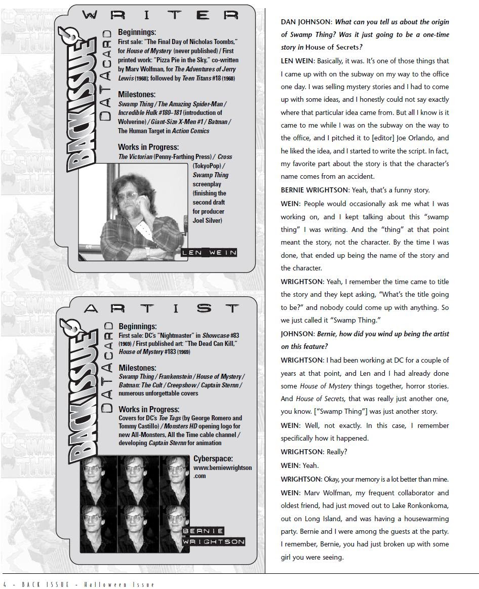 Back Issue issue 6 - Page 5