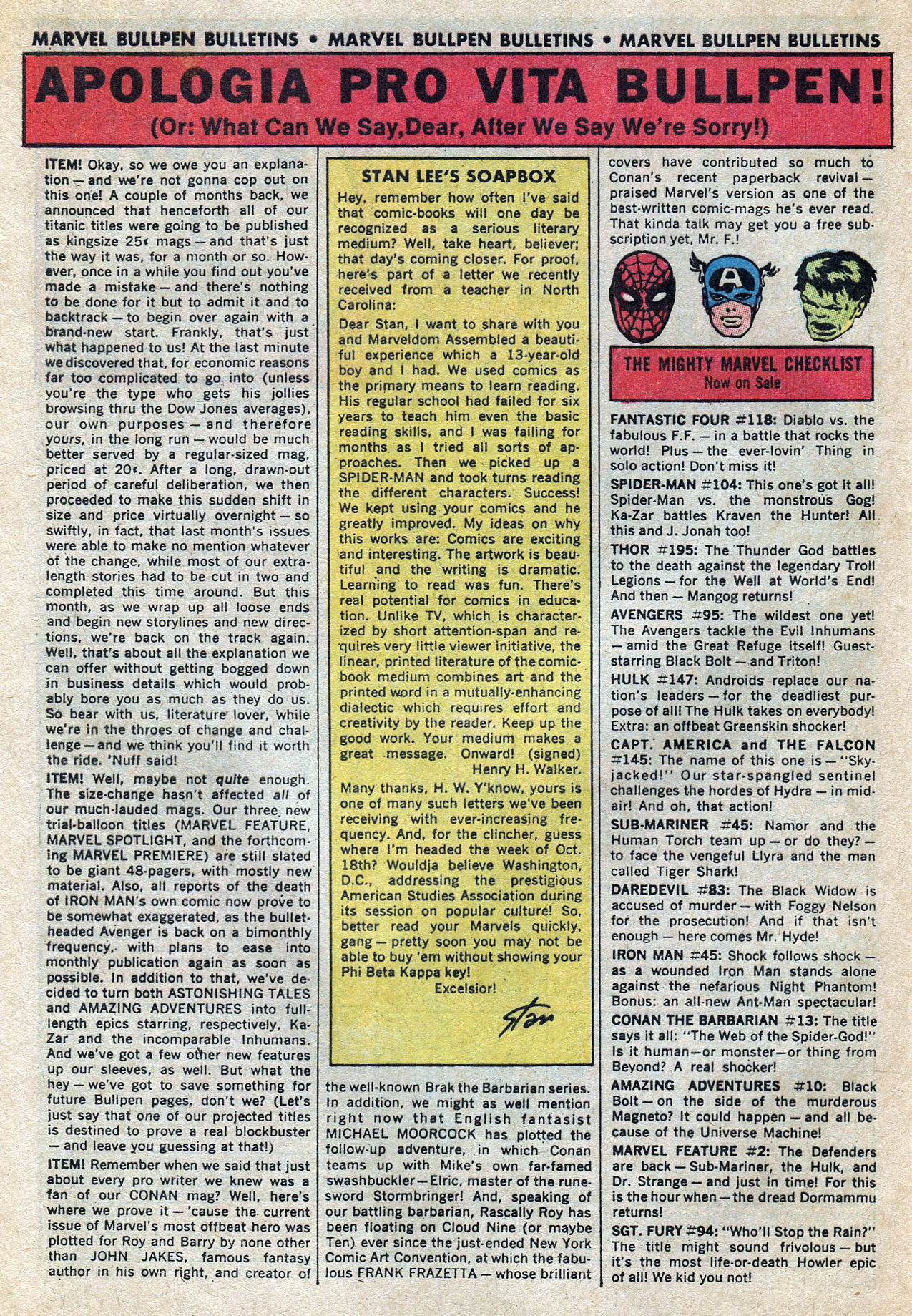 Read online Amazing Adventures (1970) comic -  Issue #10 - 32