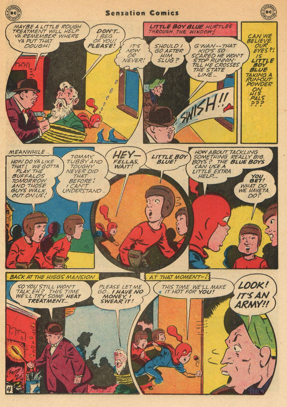 Read online Sensation (Mystery) Comics comic -  Issue #51 - 20