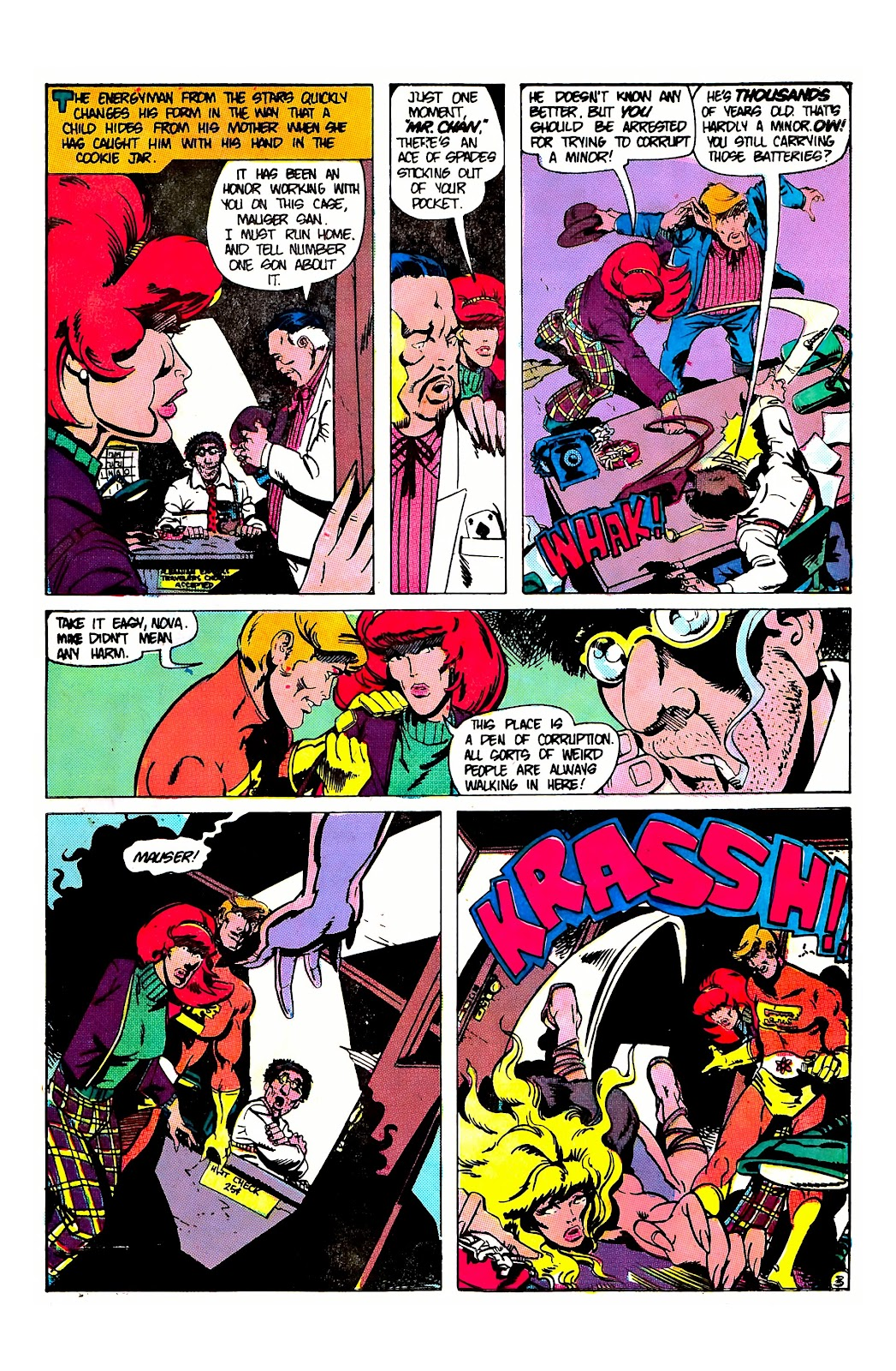 E-Man (1973) issue 8 - Page 5