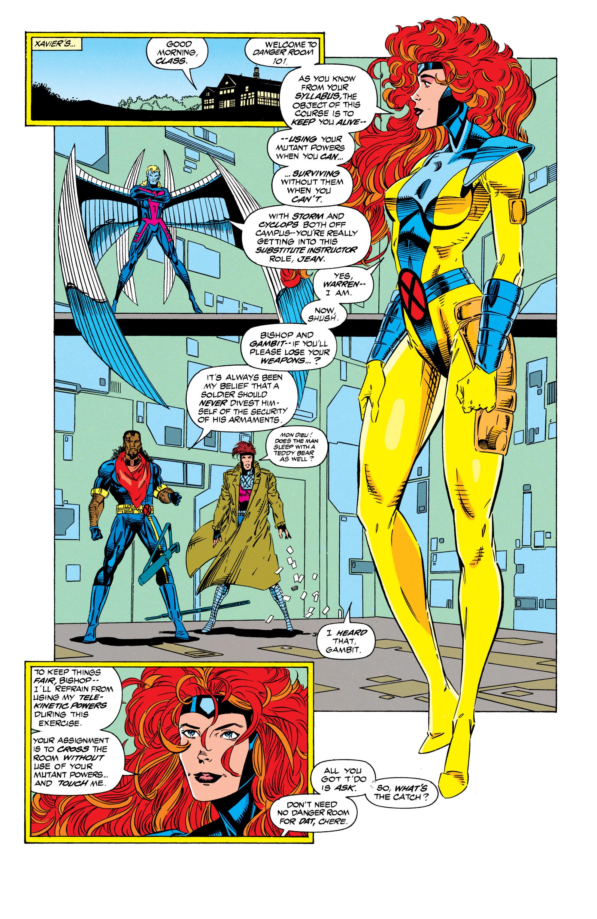 Read online Uncanny X-Men (1963) comic -  Issue #298 - 6