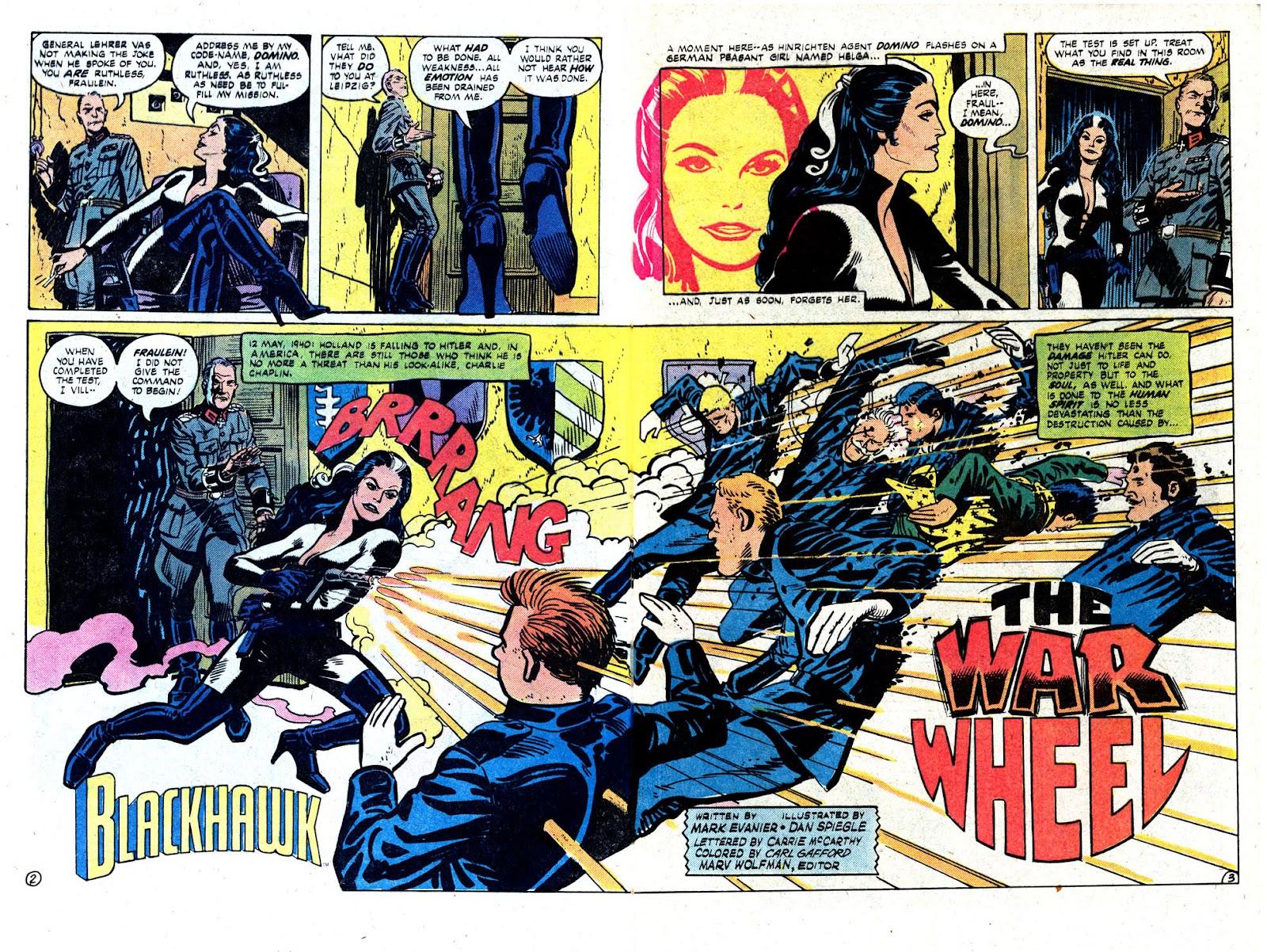 Read online Blackhawk (1957) comic -  Issue #252 - 4