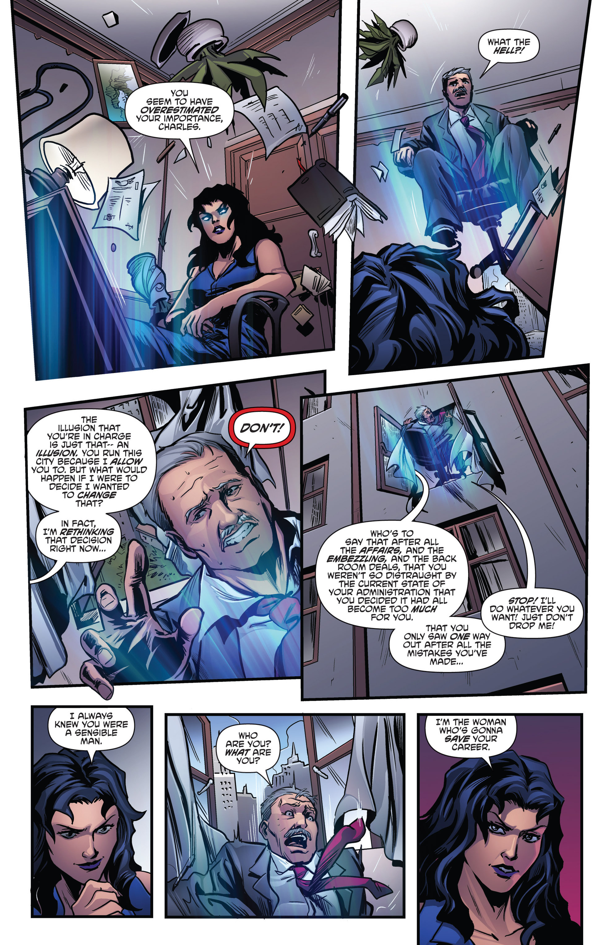 Read online Grimm Fairy Tales presents Goddess Inc. comic -  Issue #4 - 8