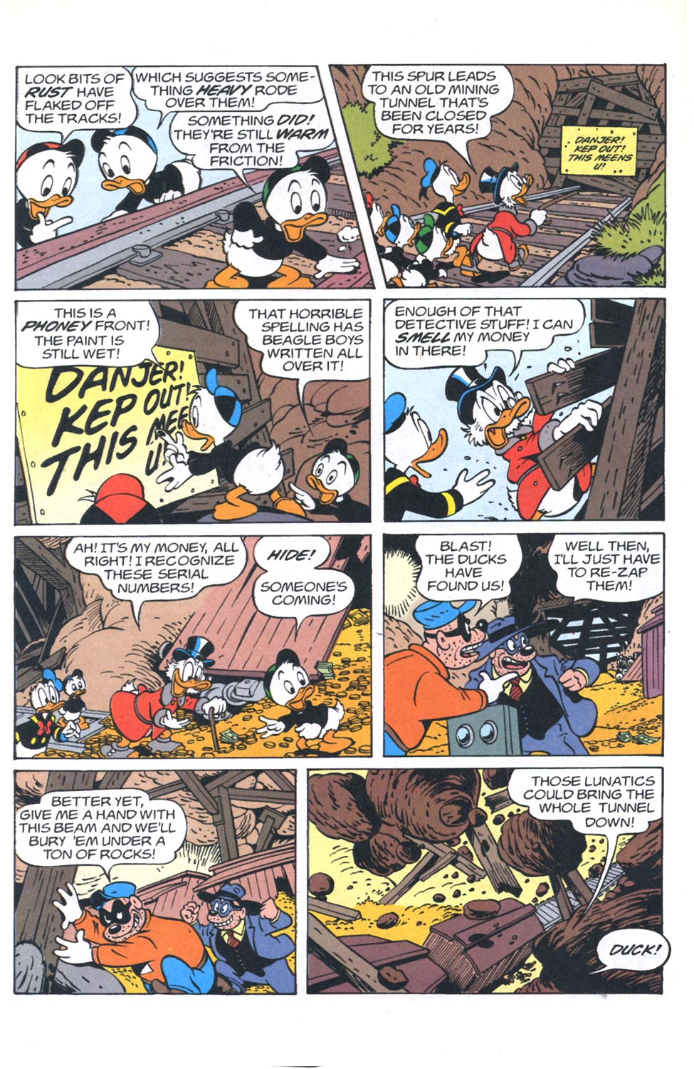 Read online Uncle Scrooge (1953) comic -  Issue #301 - 25