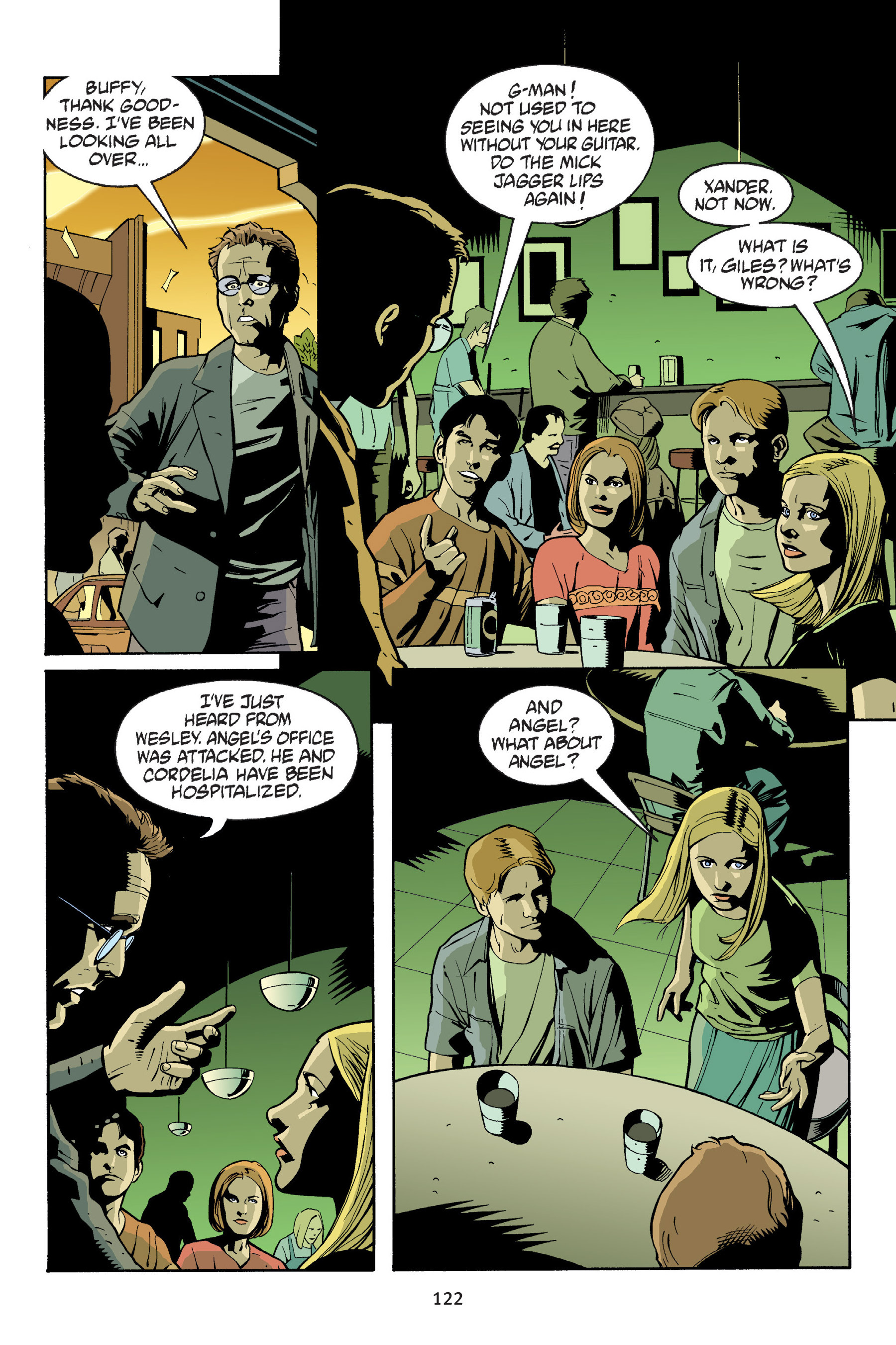 Read online Buffy the Vampire Slayer: Omnibus comic -  Issue # TPB 6 - 122