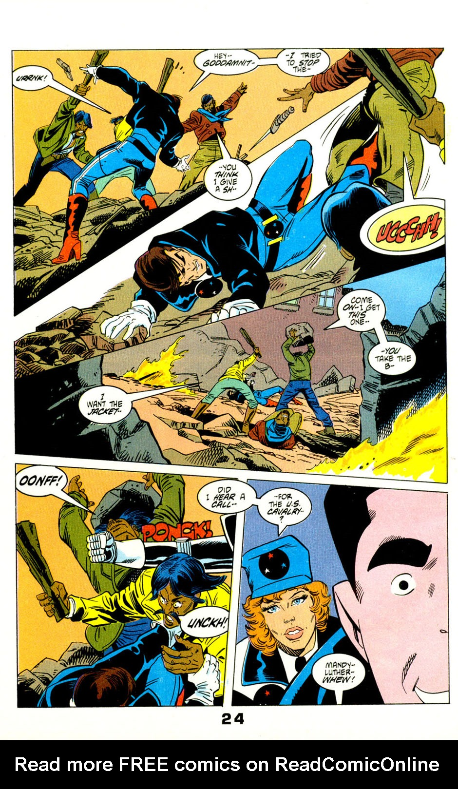 Read online American Flagg! comic -  Issue #29 - 27